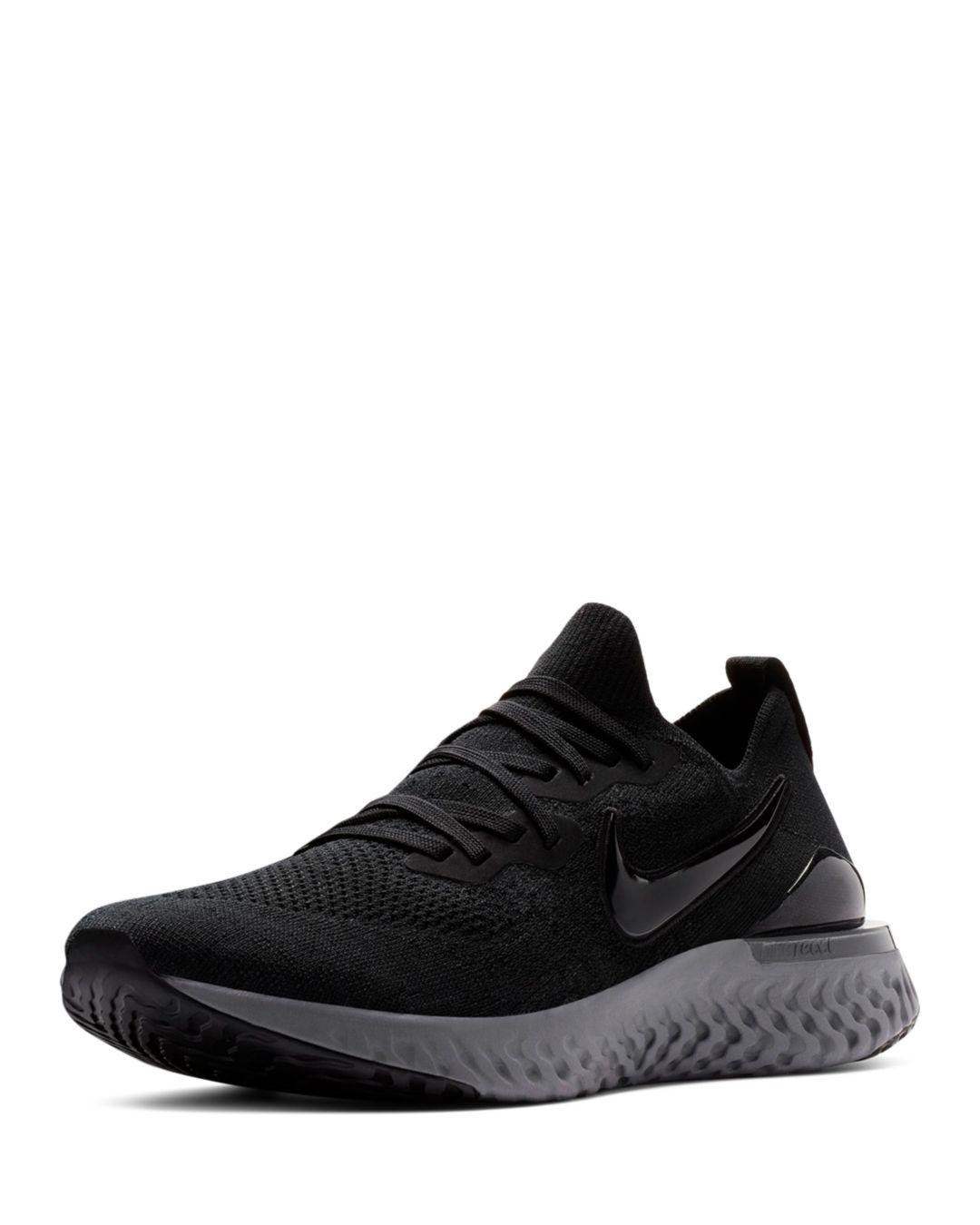 005a851b4f62 Lyst - Nike Men s Epic React Flyknit Sneakers in Black for Men - Save 8%