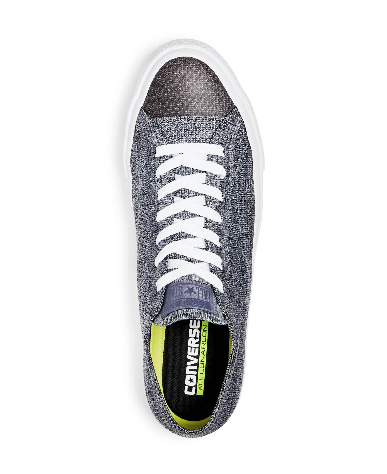 fd6c0292c96c Converse - Black X Nike Men s Chuck Taylor All Star Flyknit Lace Up  Sneakers for Men