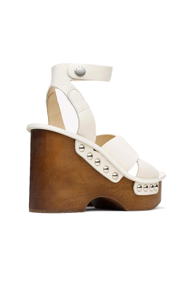 517be94cdaf Rag   Bone - White Hester Wedge Sandal - Lyst. View fullscreen