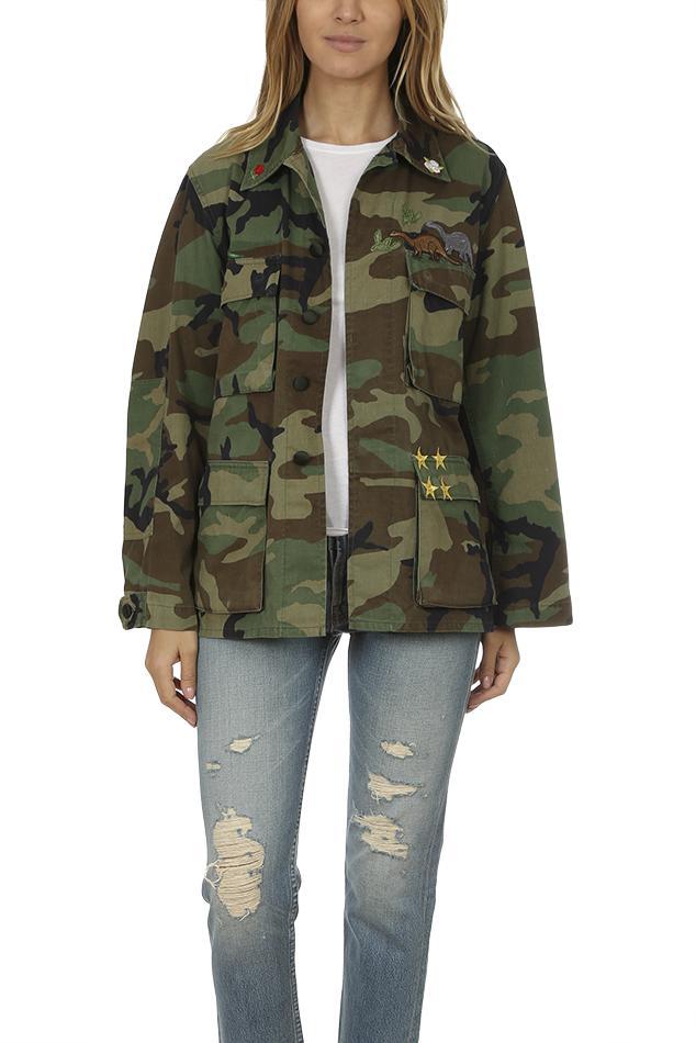 d8692df0e051a Harvey Faircloth - Green Woodland Field Jacket - Lyst. View fullscreen