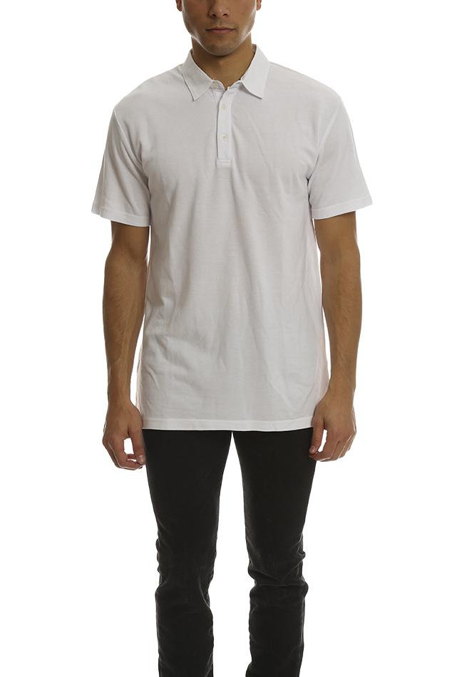 632adbe960301 Lyst - Shades of Grey by Micah Cohen Polo Shirt in White for Men