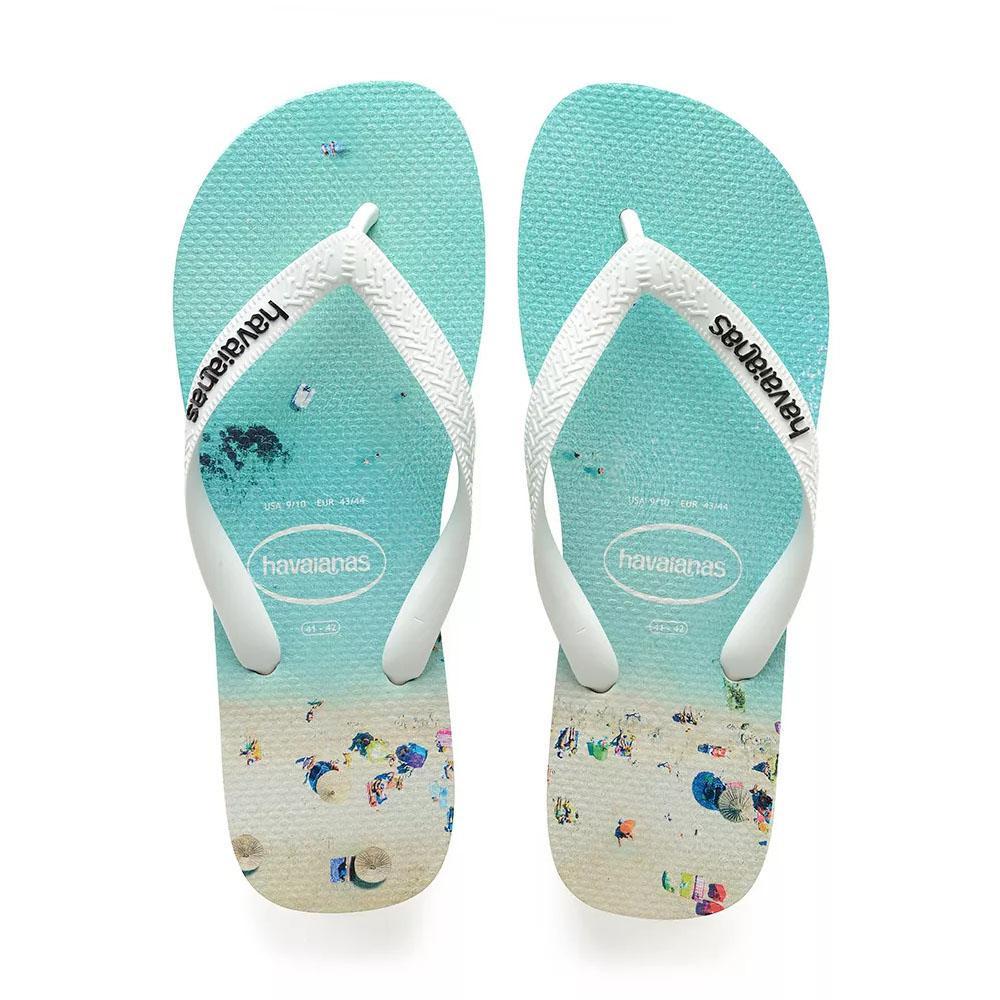 46624696f018 Havaianas - Multicolor Hype Flip Flops White Water for Men - Lyst. View  fullscreen