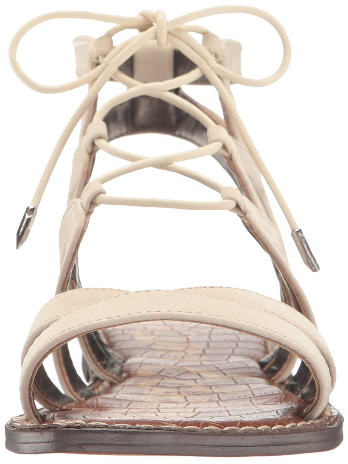 7728aefceed99c Lyst - Sam Edelman Womens Gemma Suede Open Toe Casual Strappy Sandals in  Natural