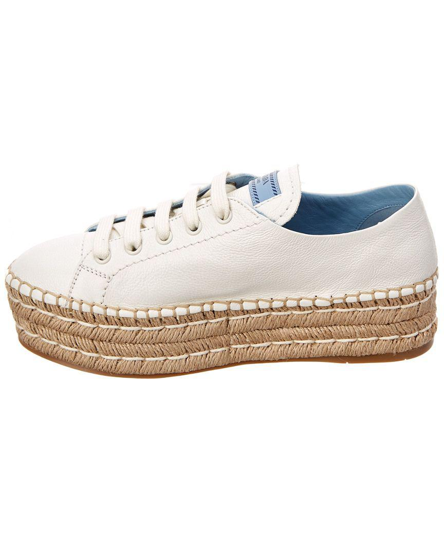 new product 86393 62f88 prada-White-Glace-Leather-Espadrille.jpeg