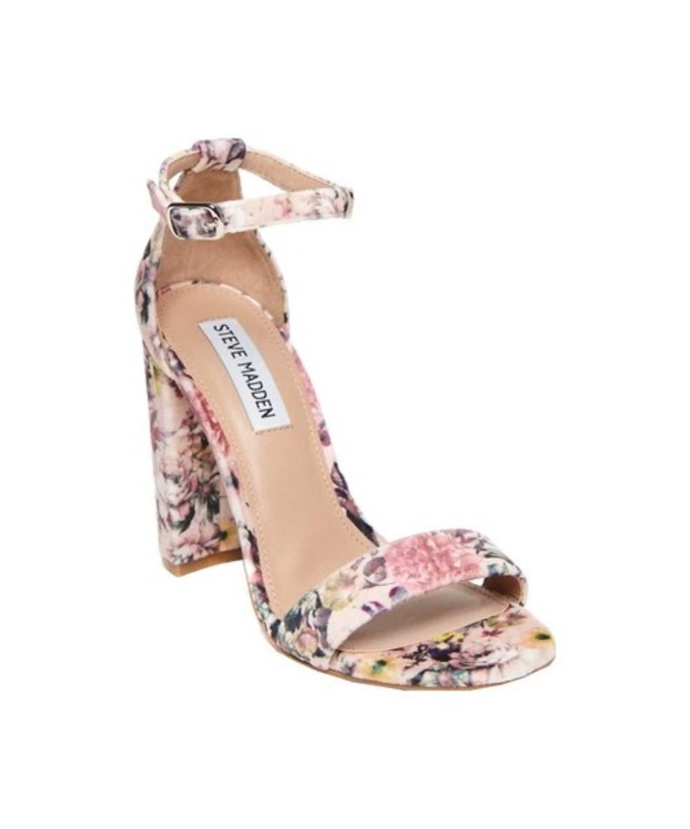 e9529ac3c5a2 Steve Madden - Pink Carrson Ankle Strap Sandal - Lyst. View fullscreen