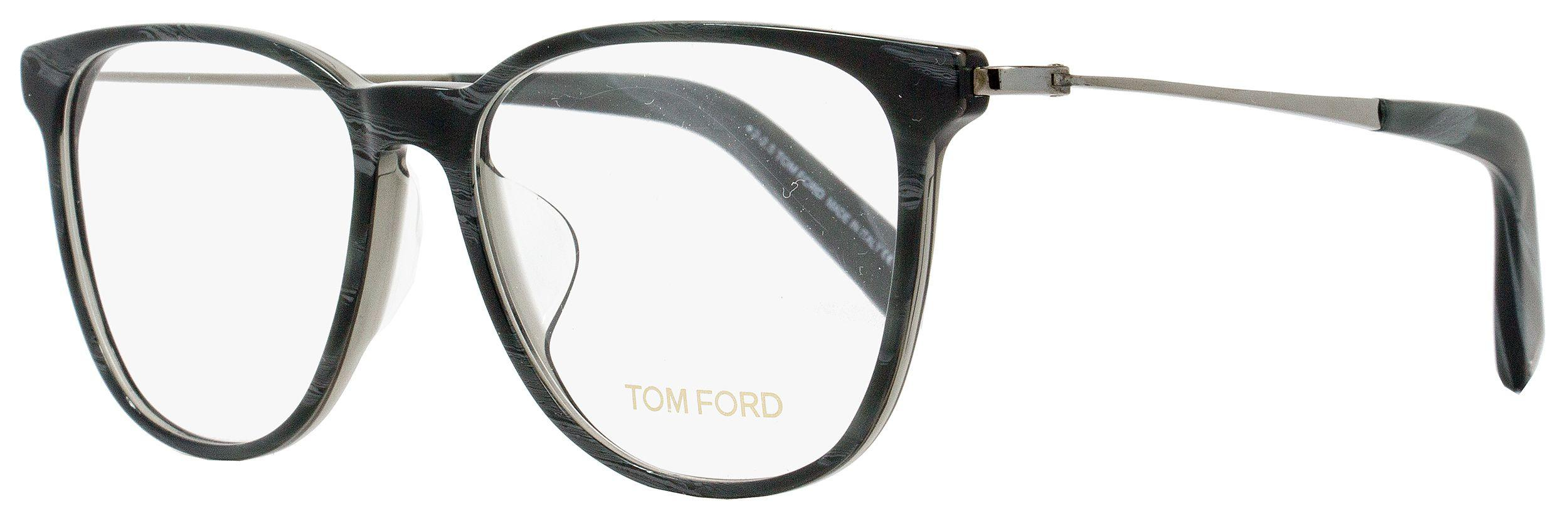 9d649ea4a7a Tom Ford - Multicolor Oval Eyeglasses Tf5384f 020 Size  53mm Gray Horn ruthenium  Ft5384. View fullscreen