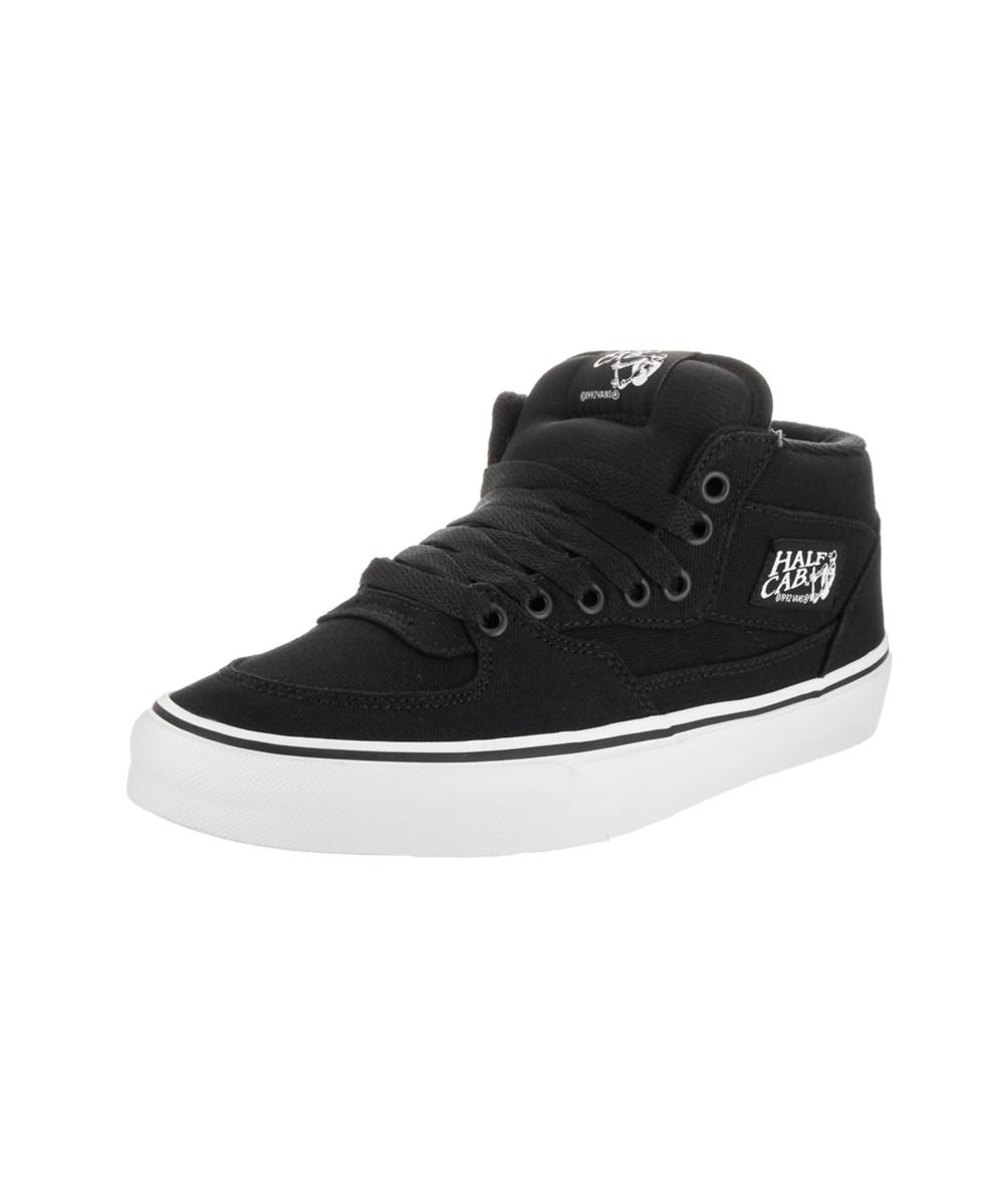 79725e3b22 Lyst - Vans Unisex Half Cab (14oz Canvas) Skate Shoe in Black for Men