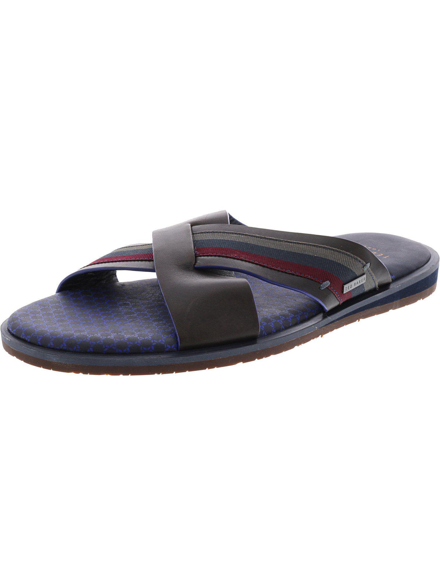 e02bcb7705e3 Lyst - Ted Baker Men s Farrull Sandal in Black for Men