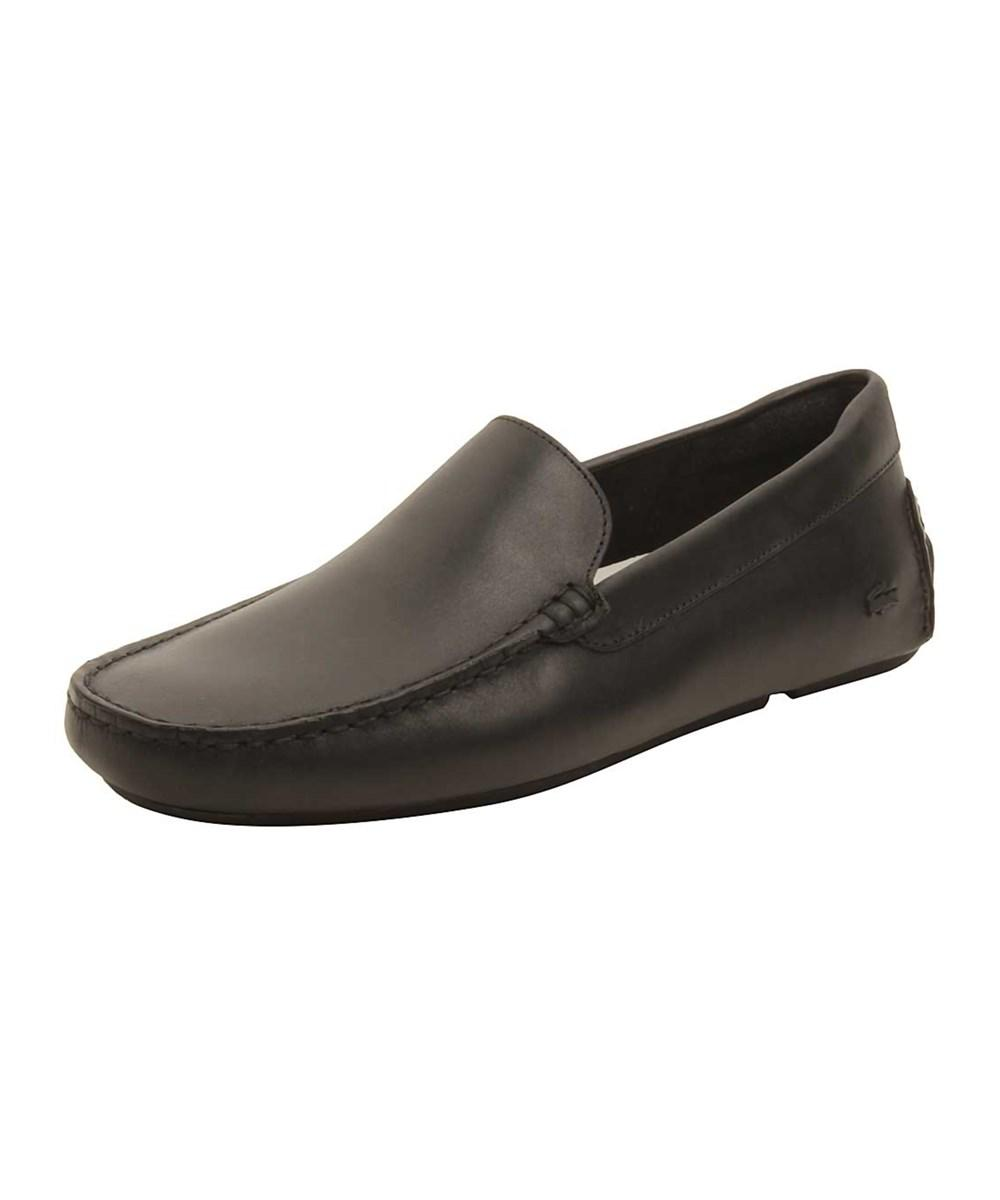 2399999fb Lyst - Lacoste Mens Piloter 117 Loafers In Black in Black for Men