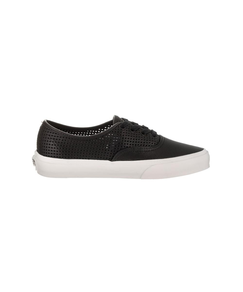 Lyst - Vans Unisex Authentic Dx (square Perf) Skate Shoe in Black for Men 4326a9063