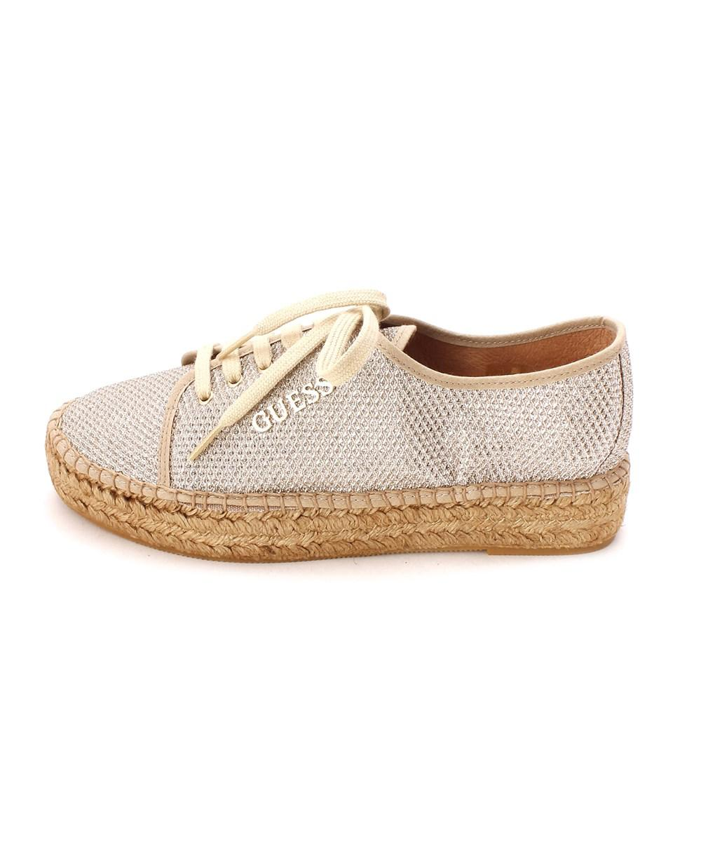 946d55d80f8 Lyst - Guess Womens Multi Texture Low Top Lace Up Fashion Sneakers ...