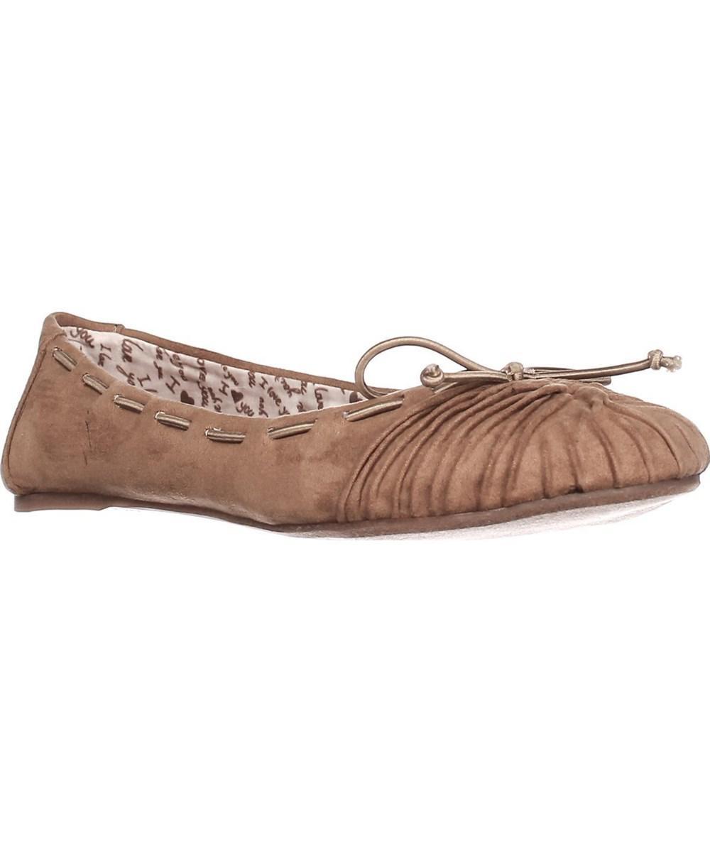 7833e96263a Lyst - Mojo moxy Dolce By Akachi Ballet Flats - Camel in Brown