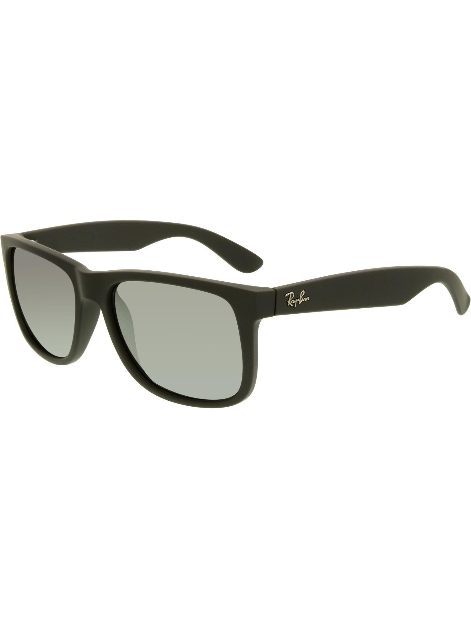 93be8867e8 Lyst - Ray-Ban Justin Rb4165-622 6g-55 Black Wayfarer Sunglasses in ...