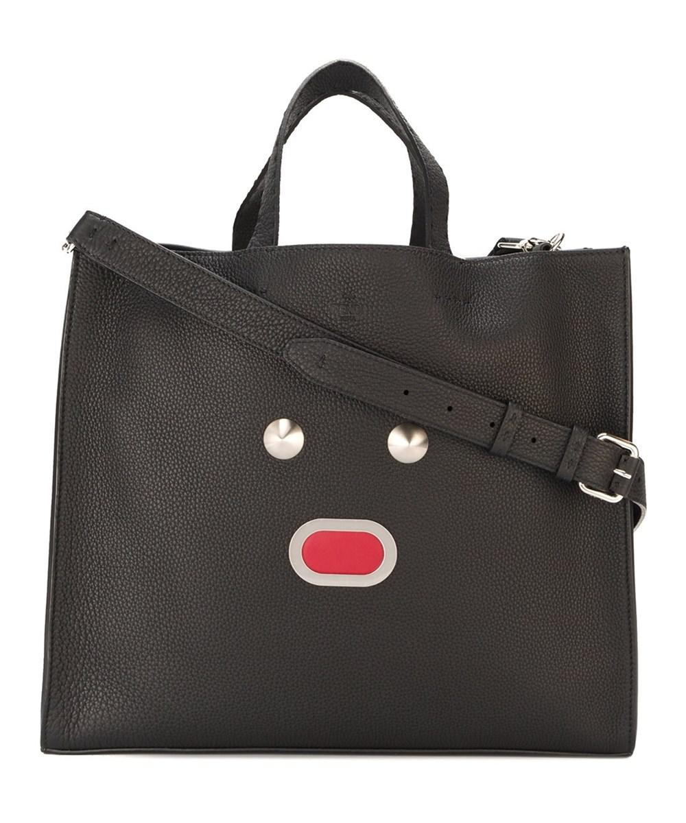 773ef6d626 Lyst - Fendi Men s Black Leather Tote in Black