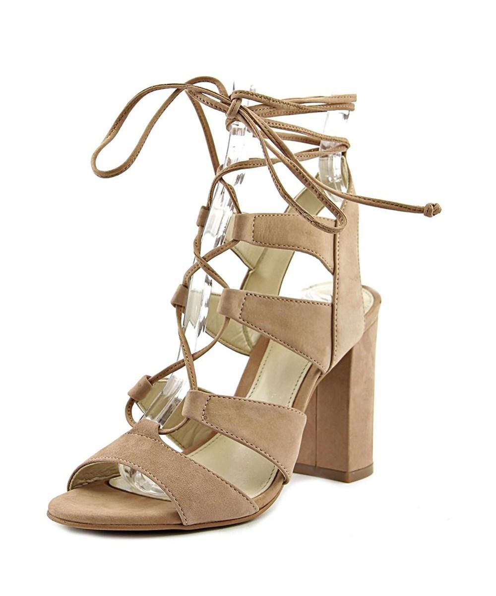 0c6d211dea51 Lyst - Vince Camuto Womens Winola Leather Open Toe Ankle Wrap ...