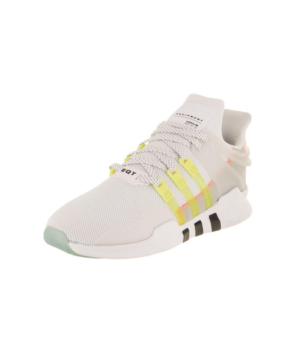 lyst adidas donne eqt appoggio avanzata originali di scarpe da corsa in bianco.