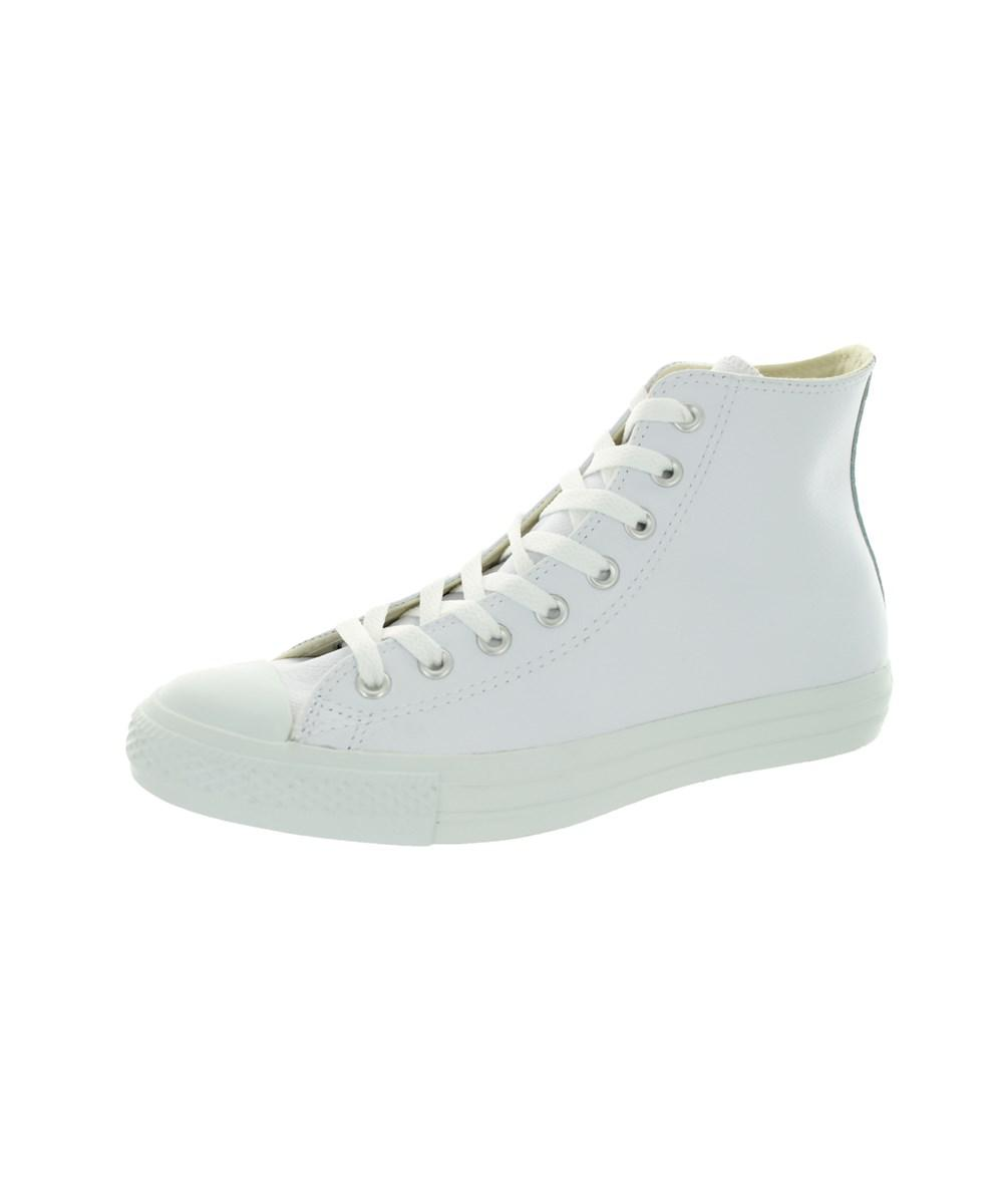 e74f706c975b Converse. White Men s All Star Chuck Taylor Leather Hi Basketball Shoe