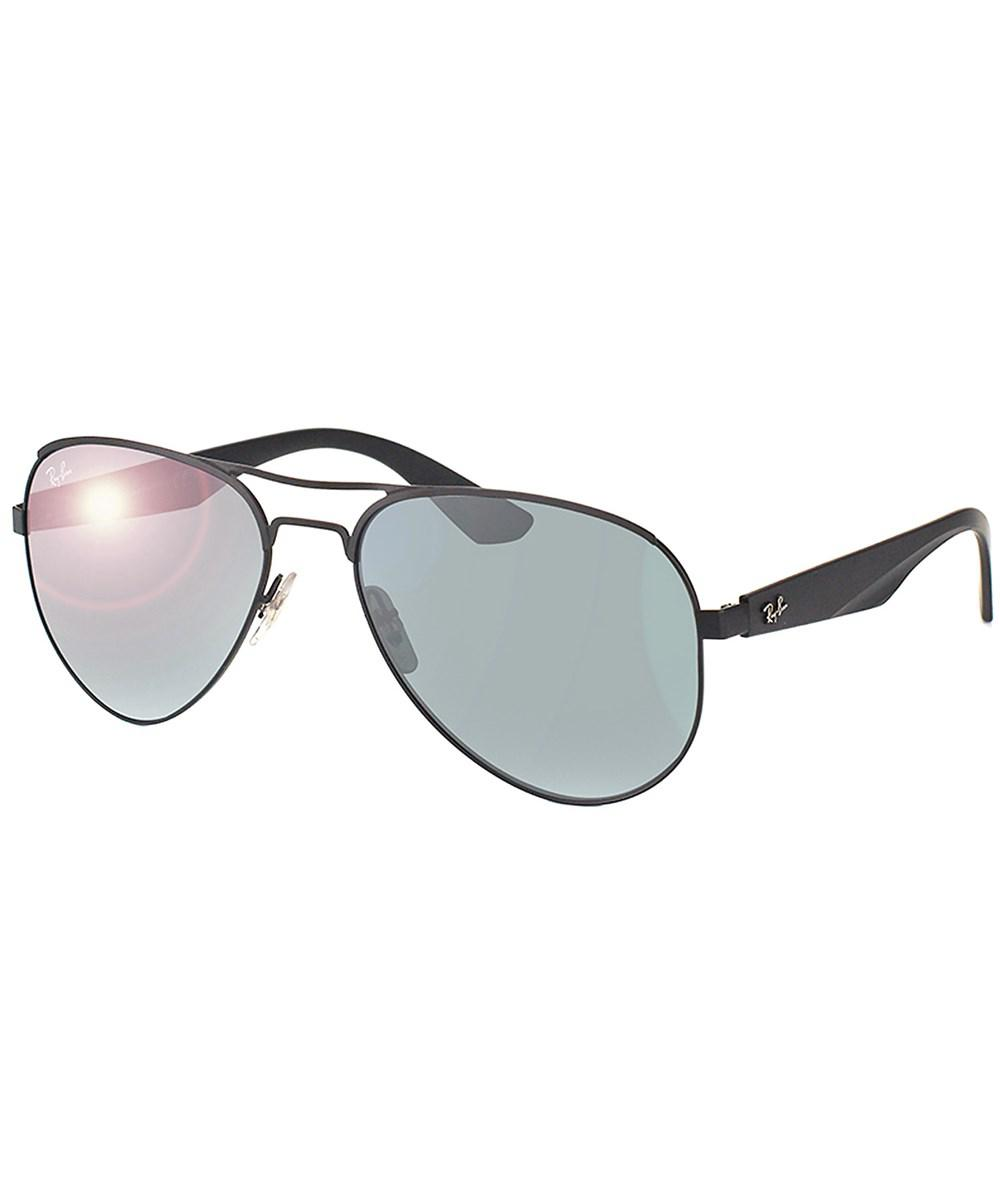a3b94d6676 Lyst - Ray-Ban Aviator Metal Sunglasses in Black