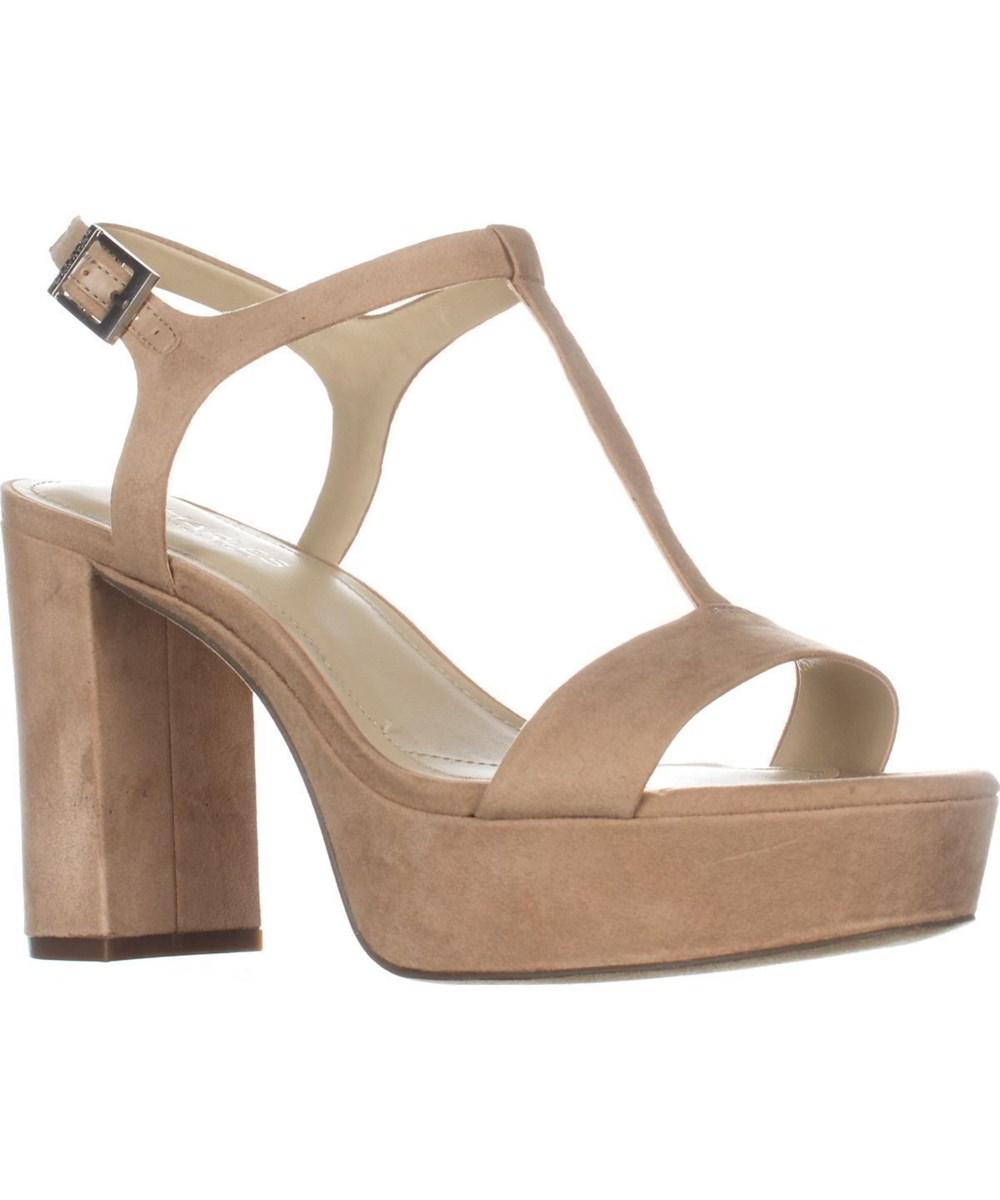 82e6d67da967 Lyst - Charles David Miller T-strap Platform Sandals