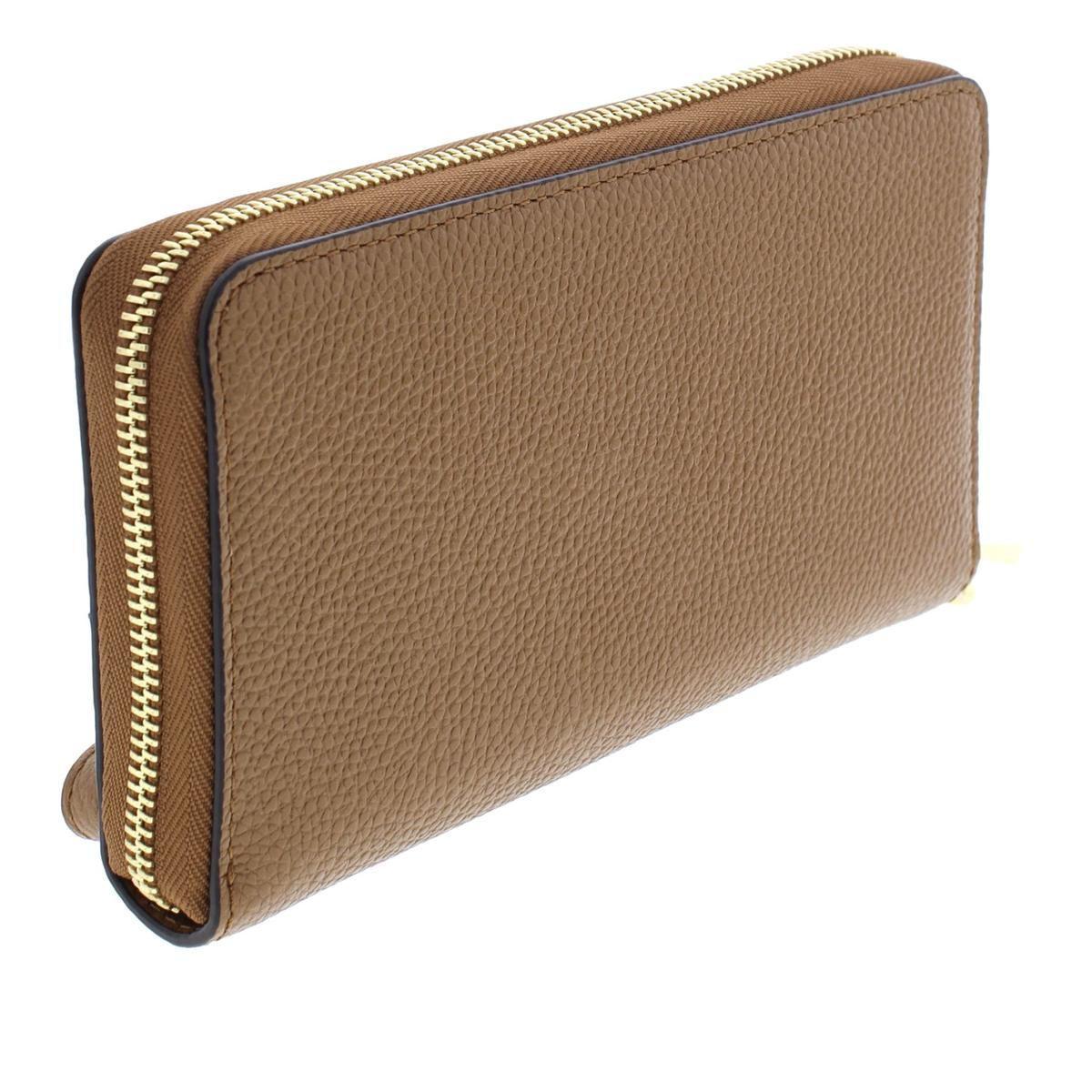 5861cc926af4 MICHAEL Michael Kors - Brown Womens Mercer Leather Multi Function Wristlet  Wallet - Lyst. View fullscreen