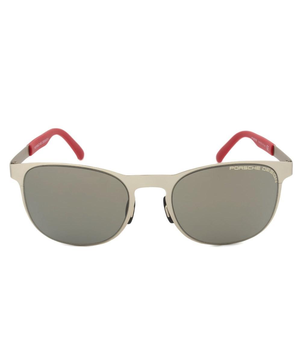 d08331a17128 Lyst - Porsche Design Design P8578 B Oval Sunglasses