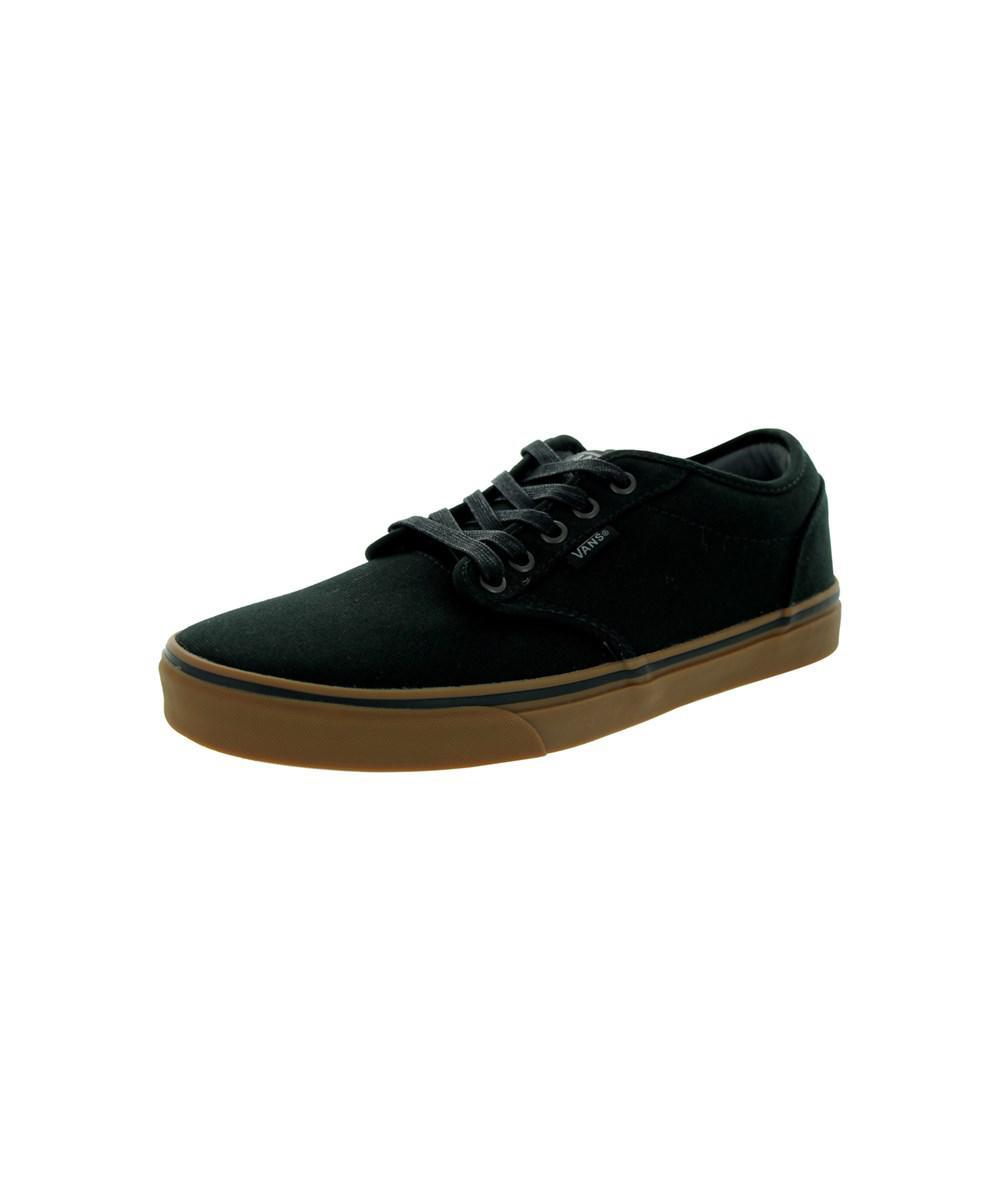 b3cc5f9a7f3cc Vans - Black Men s Atwood (12 Oz Canvas) Skate Shoe for Men - Lyst. View  fullscreen