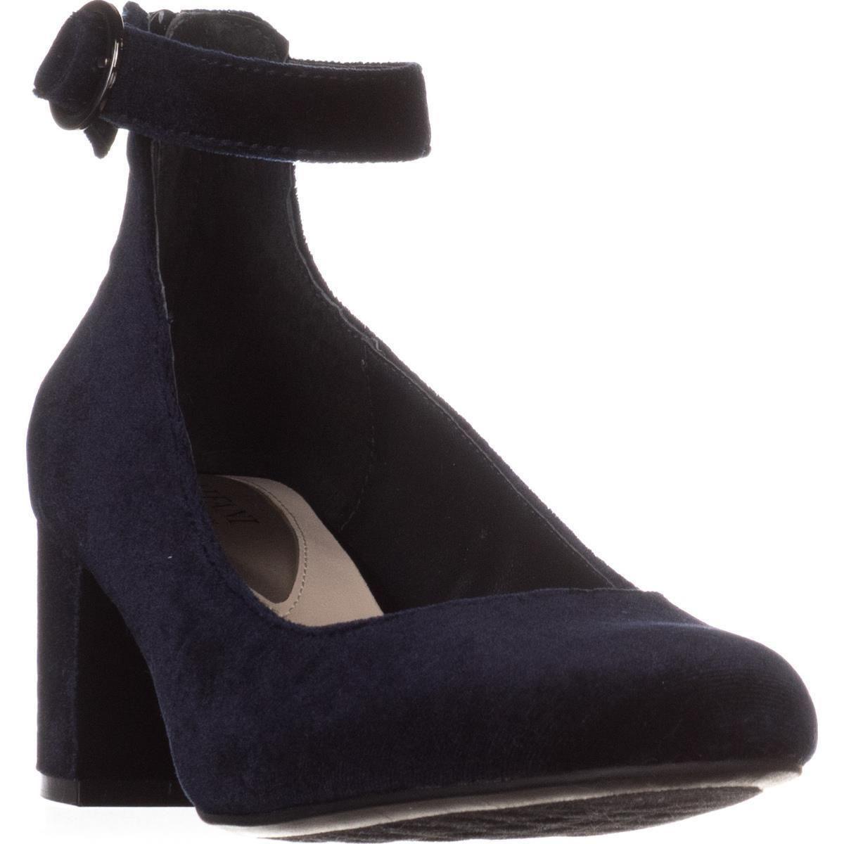b99c4cf1da78 Alfani. Women s Blue A35 Ashiaa Ankle Strap Pumps ...