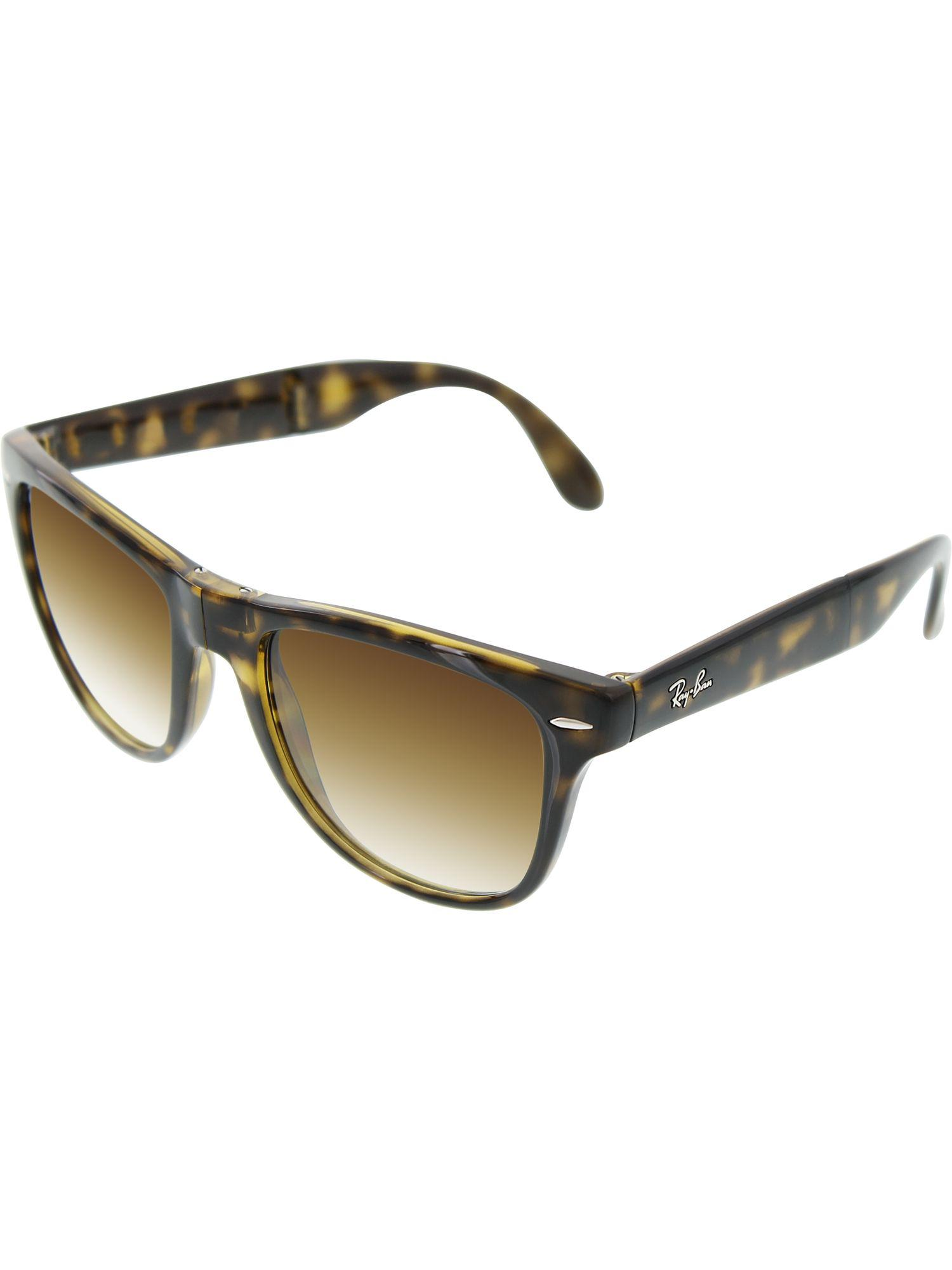 318bfc0f190 Ray-Ban. Women s Gradient Wayfarer Rb4105-710 51-54 Tortoiseshell Sunglasses