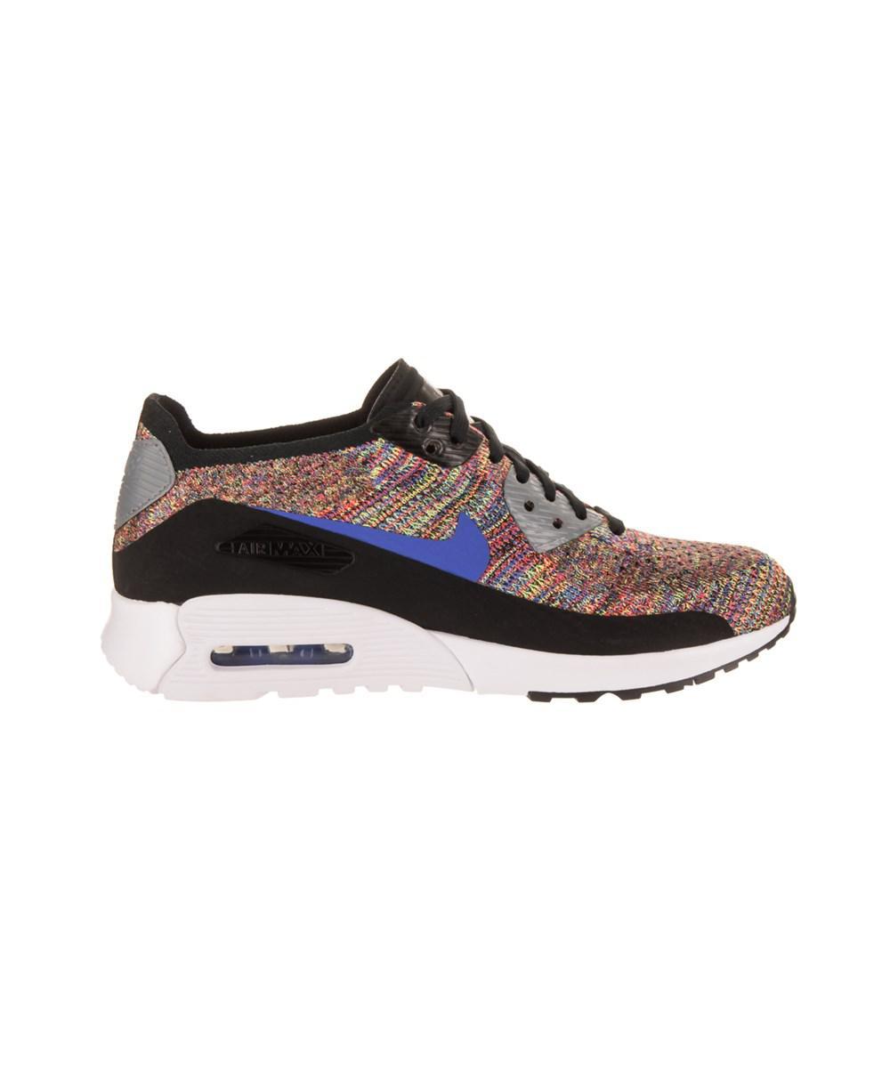 huge discount 95f4c 5dd5c Nike - Black Women s Air Max 90 Ultra 2.0 Flyknit Running Shoe - Lyst. View  fullscreen