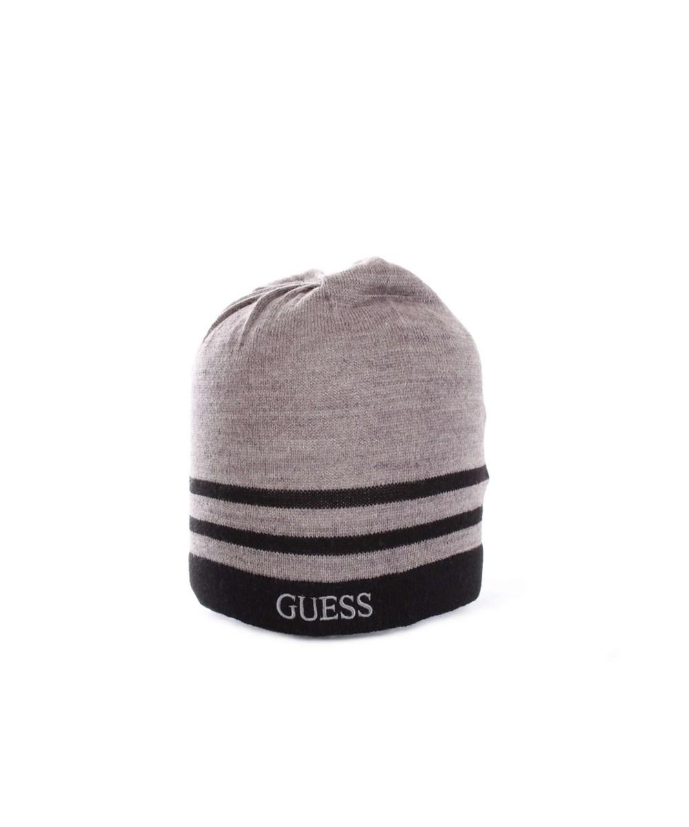 Lyst - Guess Men s Grey Wool Hat in Gray for Men b77d98b6801