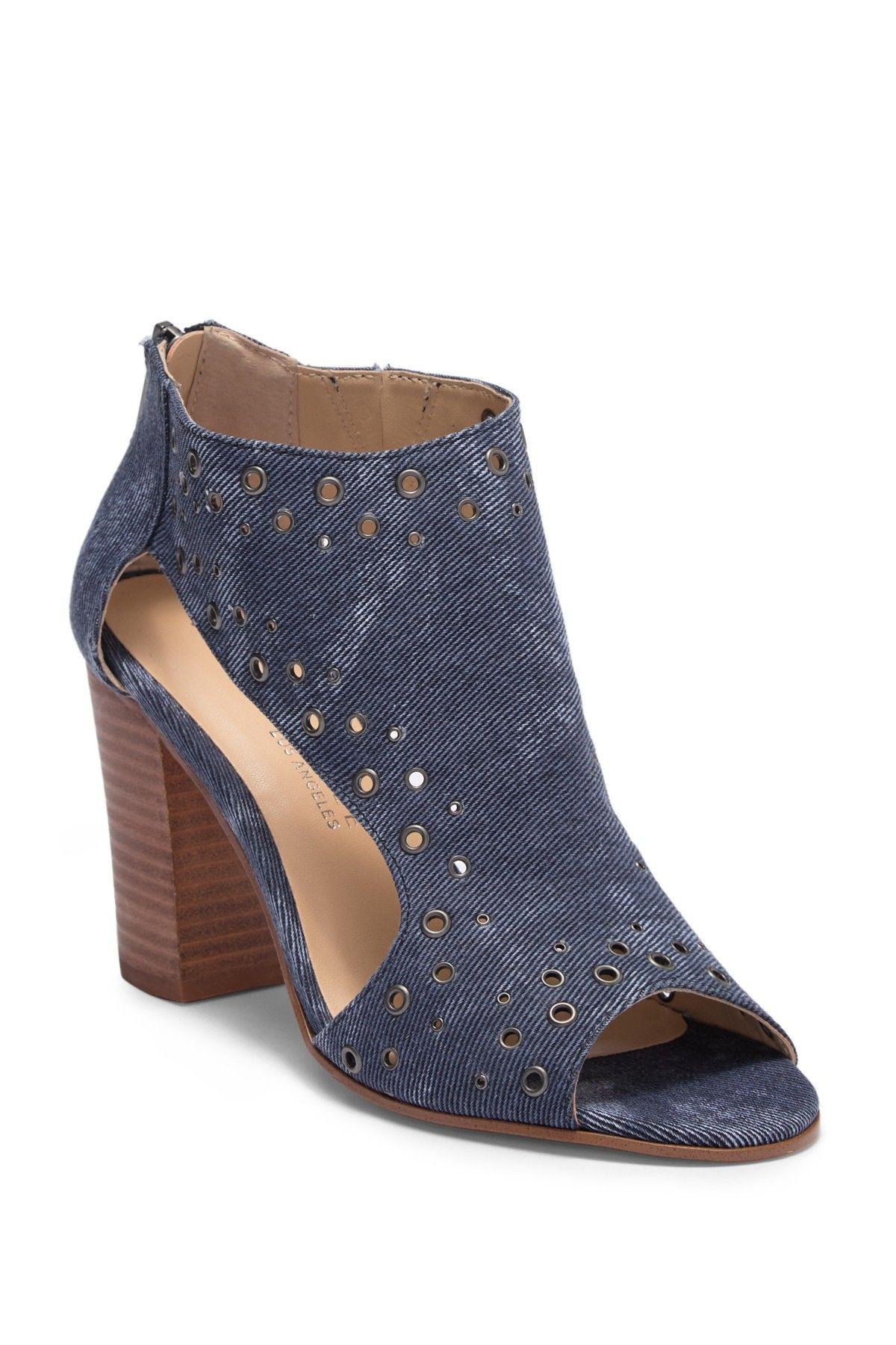 5950bc6498b Lyst - Very Volatile Womens Tevy Open Toe Ankle Fashion Boots in Blue