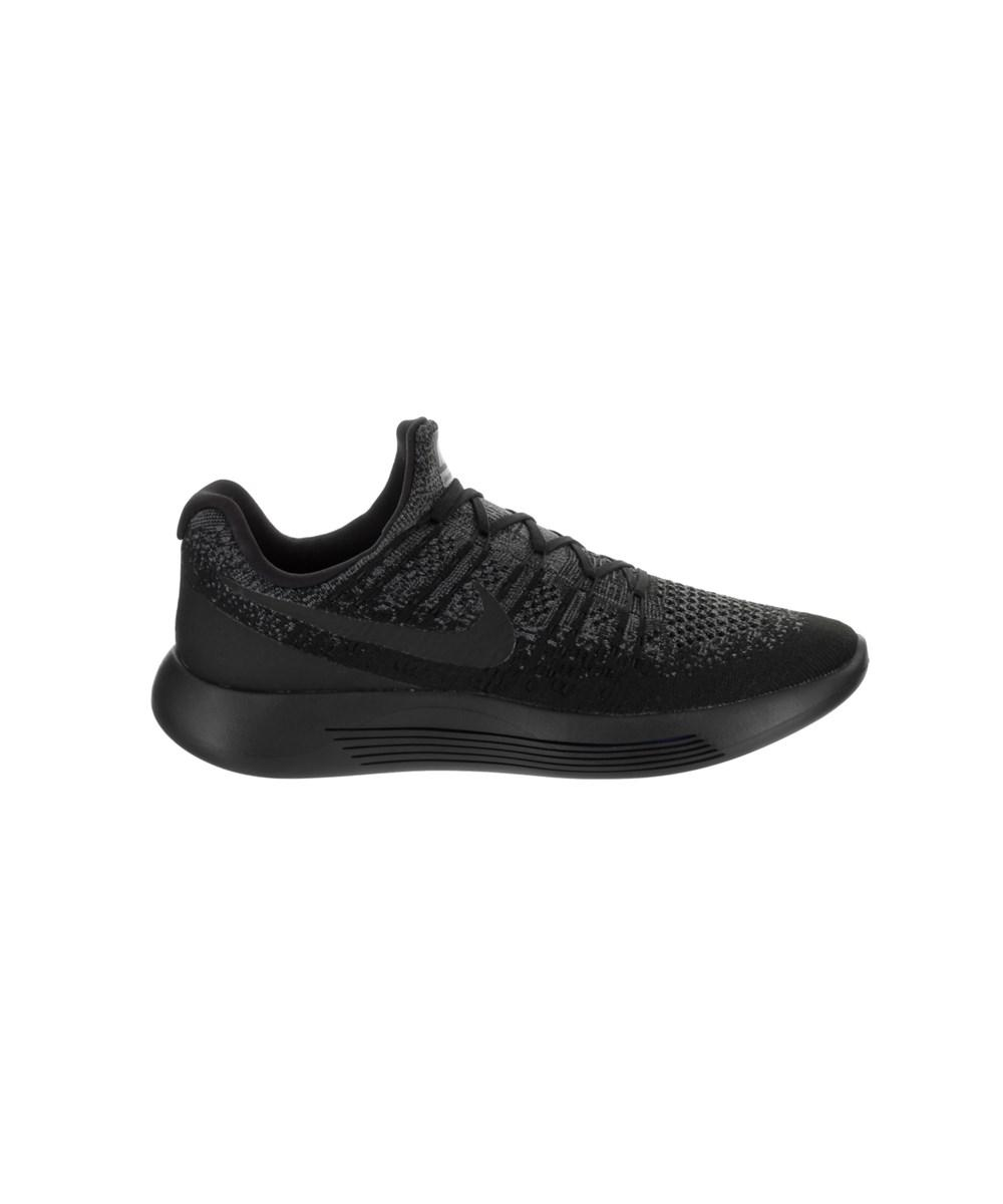 04aa323b5935 ... official store lyst nike mens lunarepic low flyknit 2 running shoe in  black for men 555b3