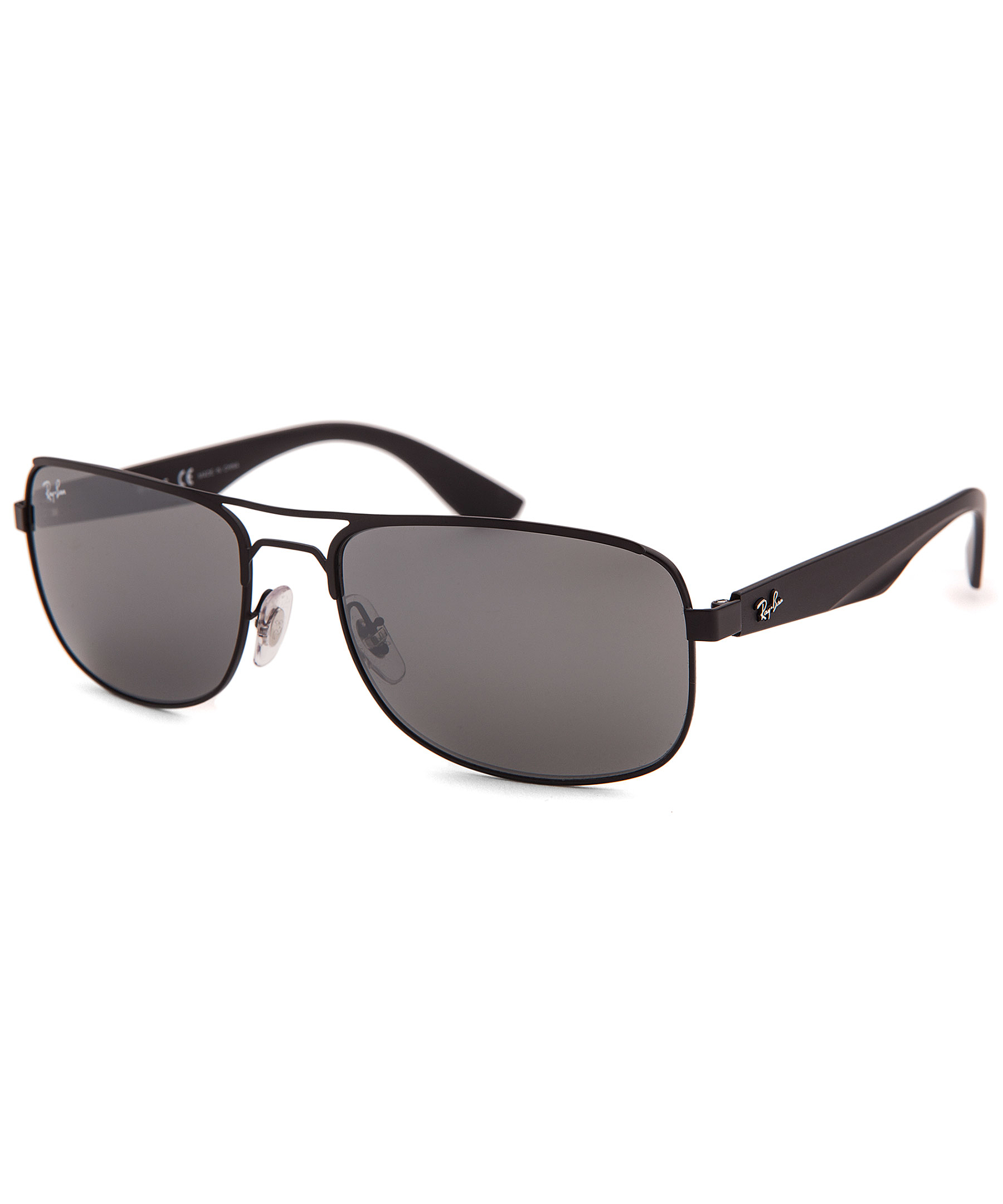 Ray-ban Men's Aviator Black Sunglasses in Black for Men | Lyst