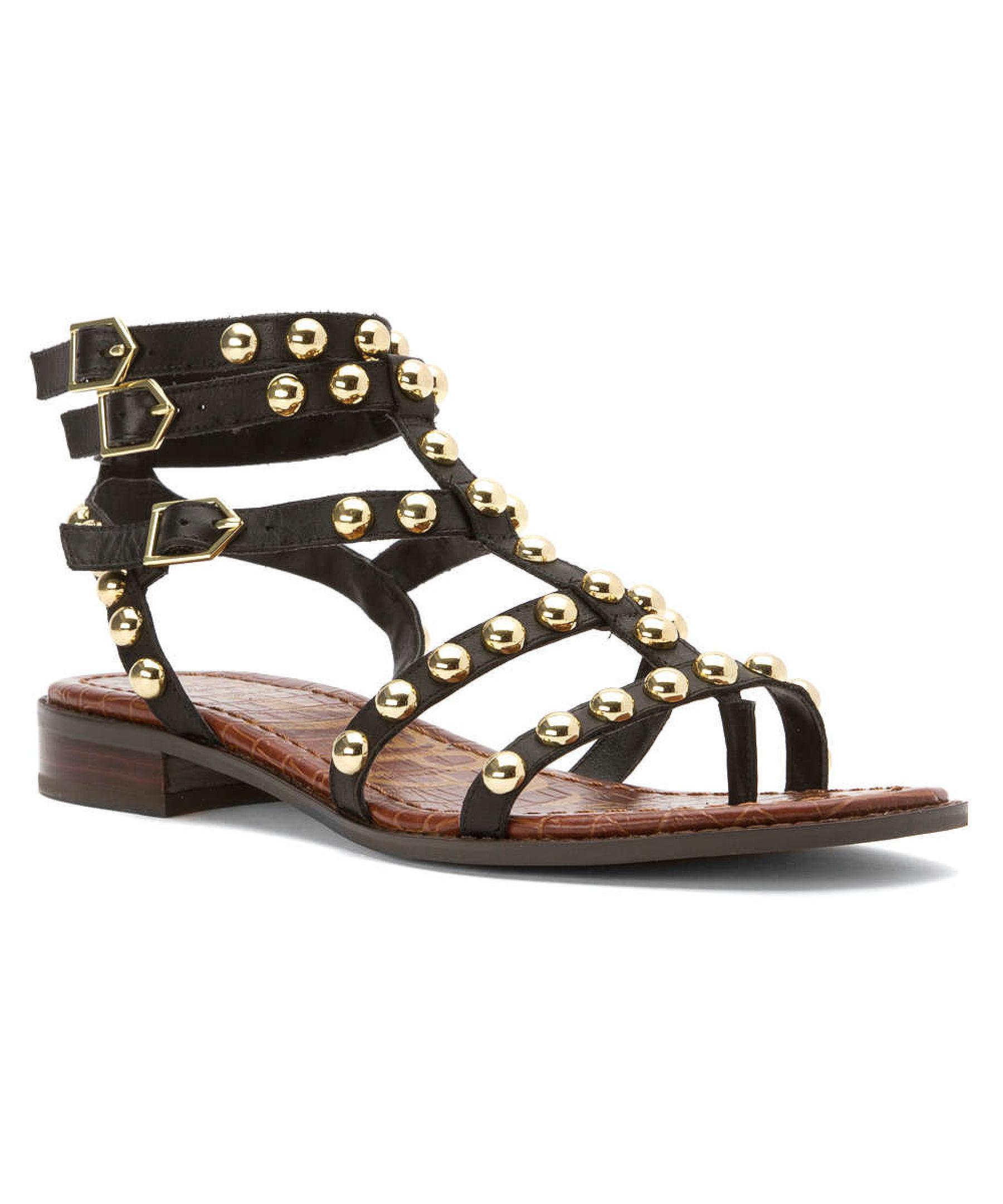 Sam Edelman Women S Eavan Sandals In Brown Black Lyst