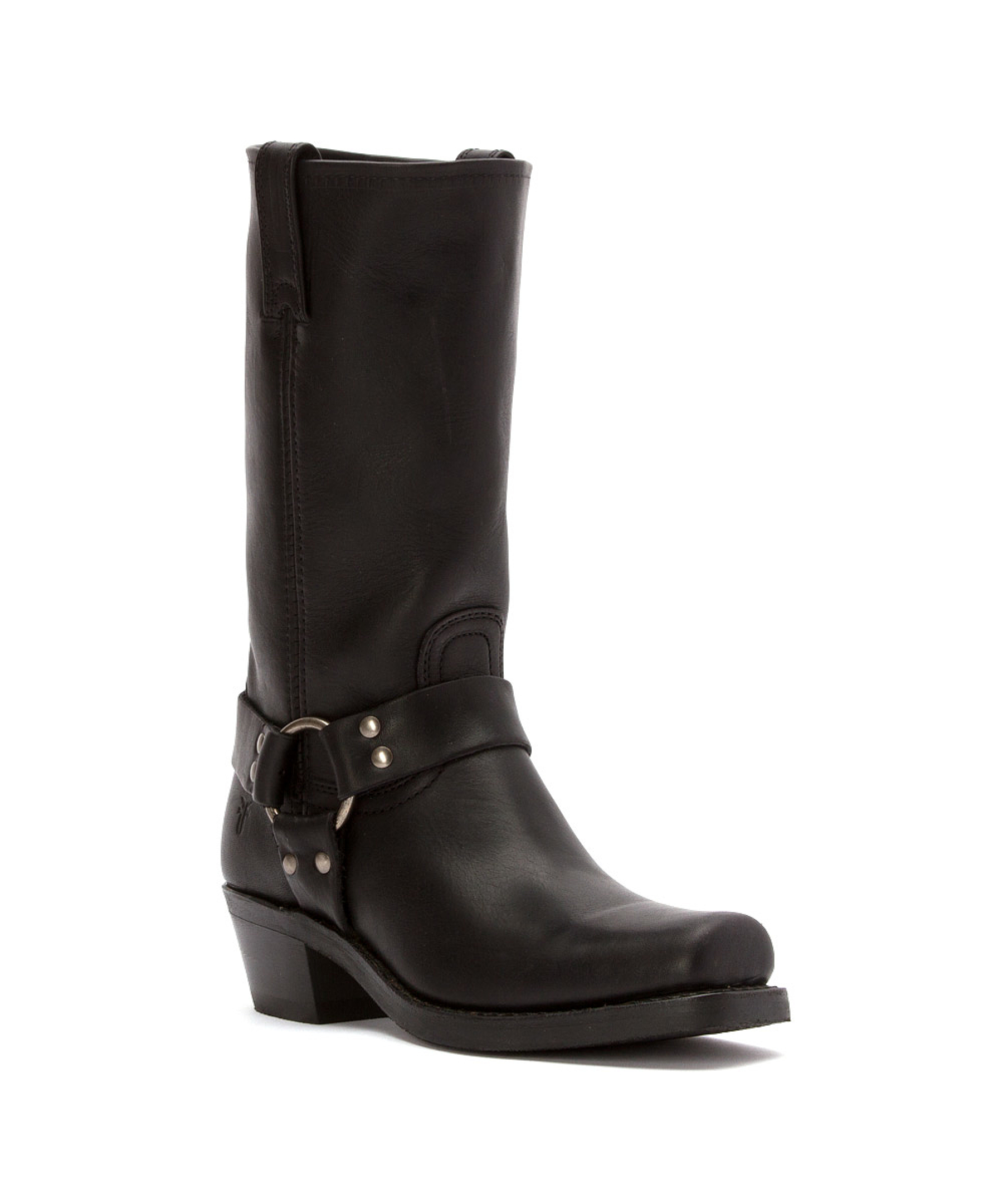frye s harness 12r boots in black save 11 lyst