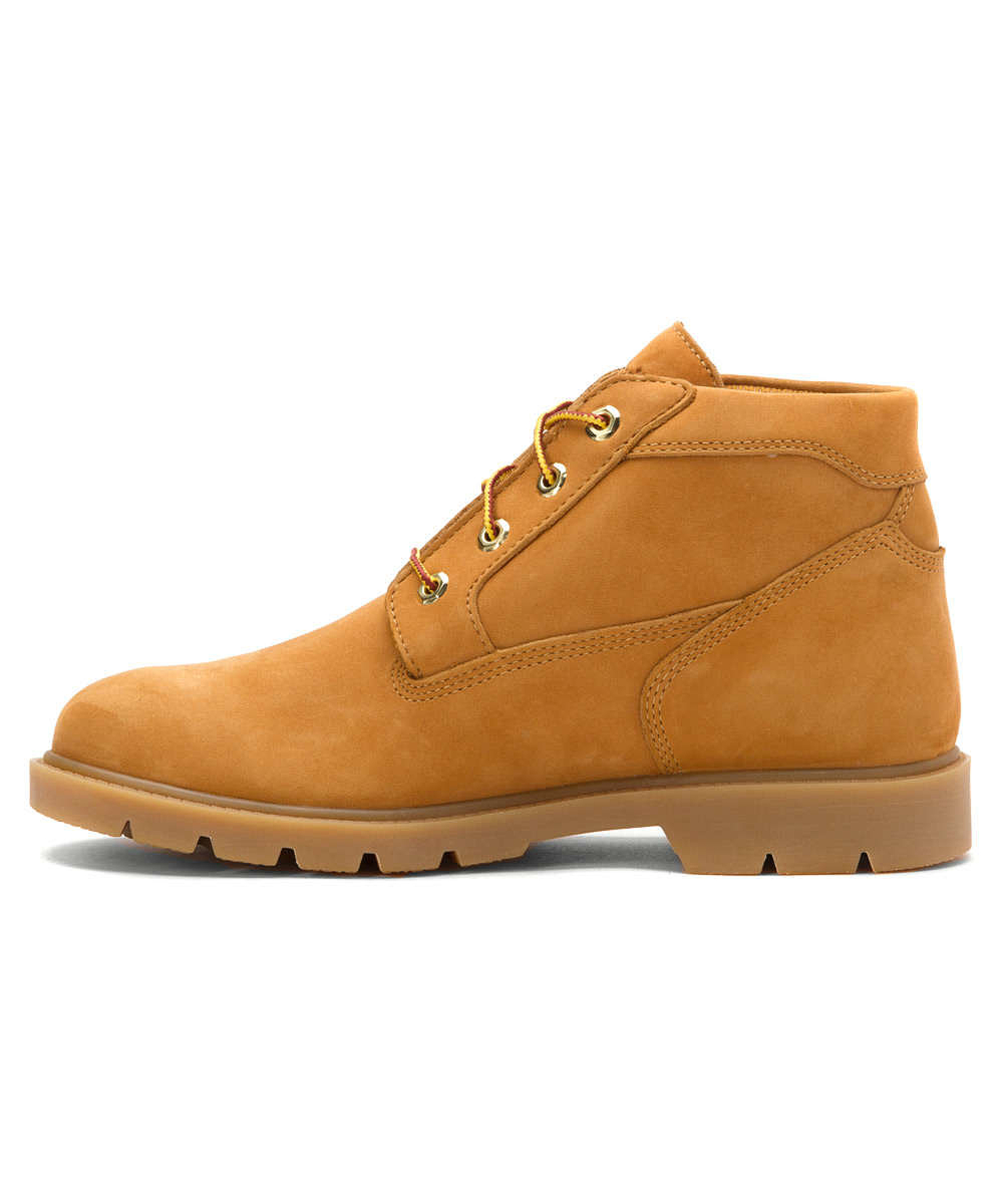 timberland s basic chukka boots in orange for lyst