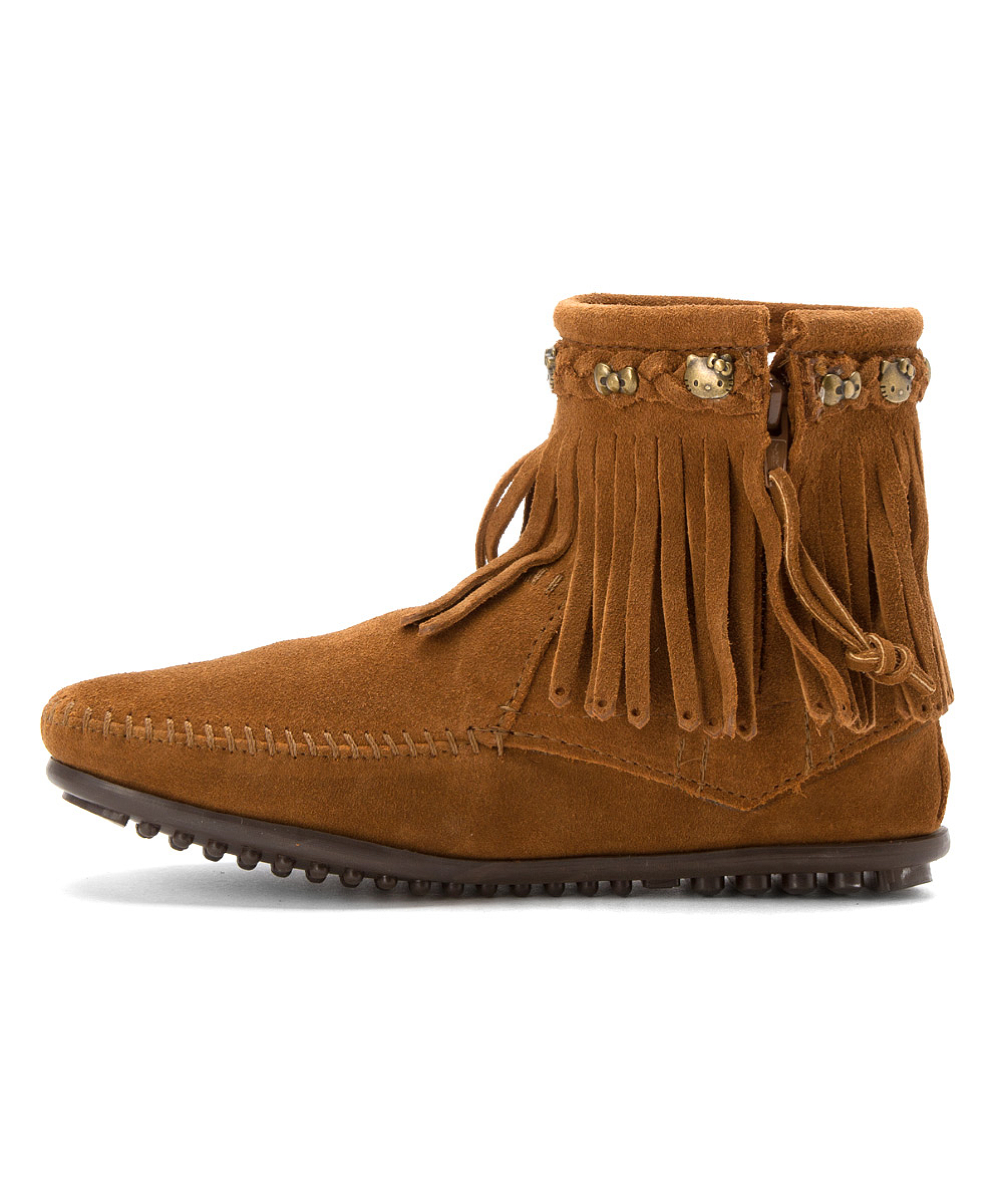 minnetonka s hello 226 174 fringe boot boots in