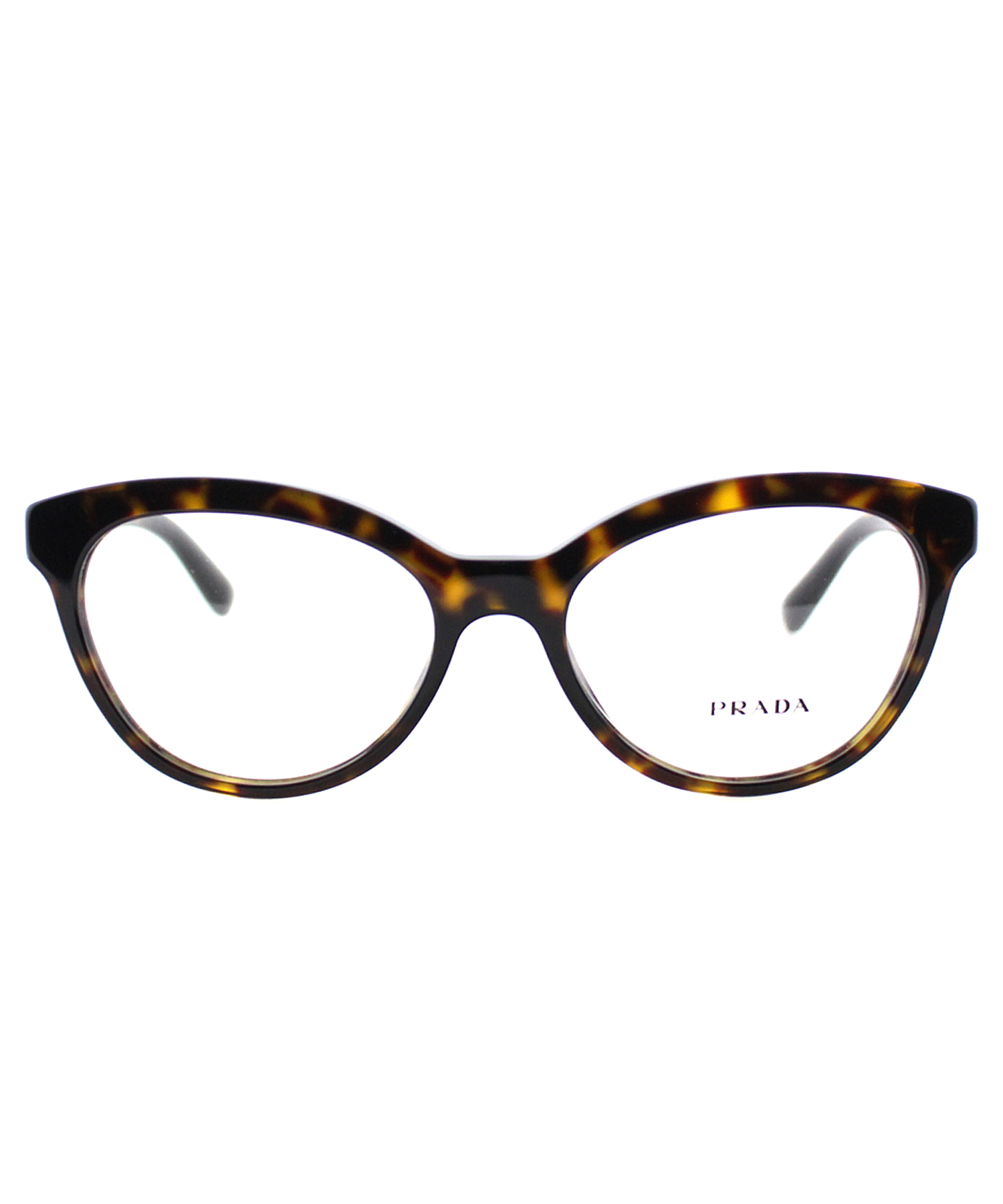 Prada Cat-eye Metal Eyeglasses in Brown Lyst