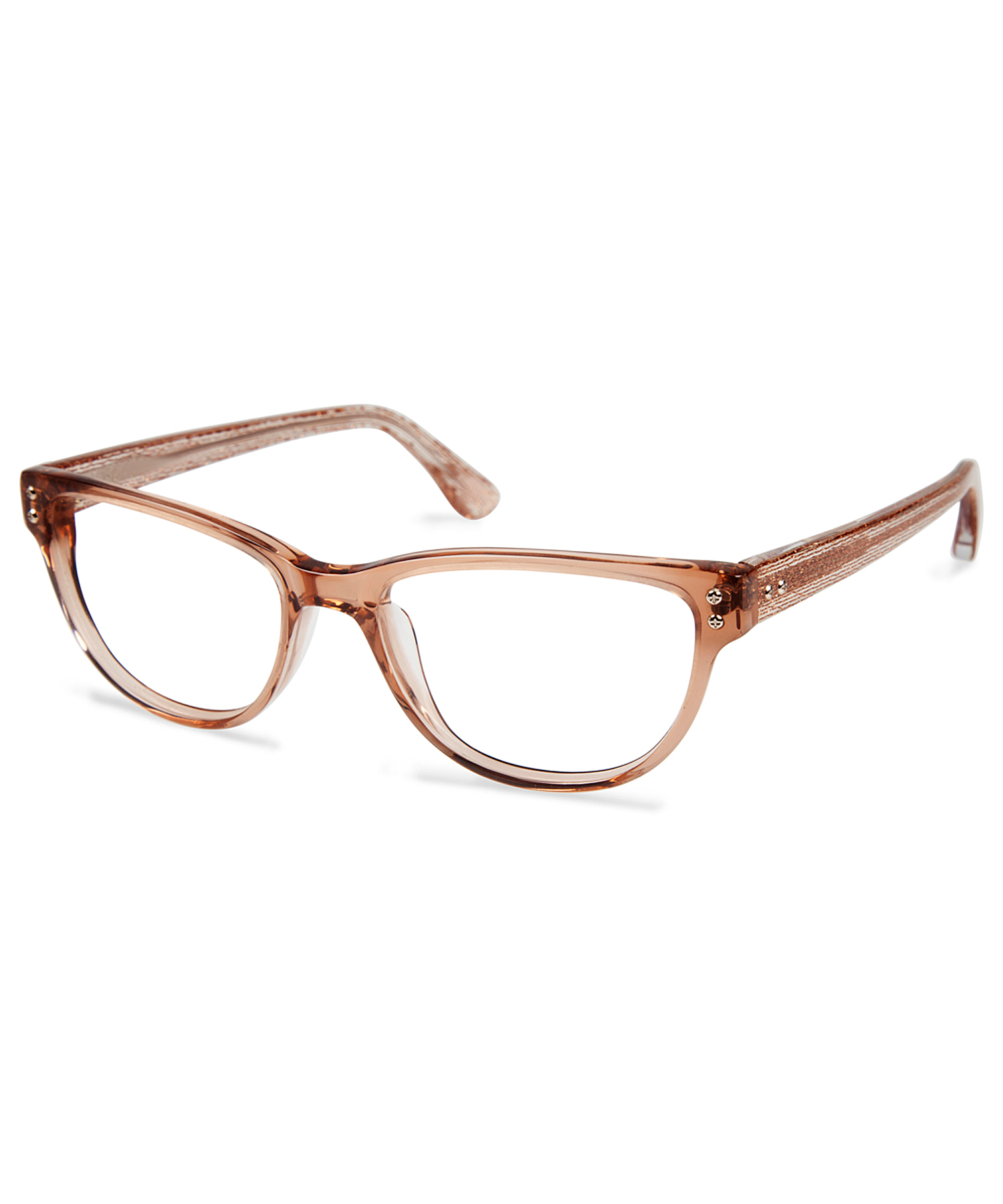 cynthia rowley brown plastic eyeglasses in brown lyst