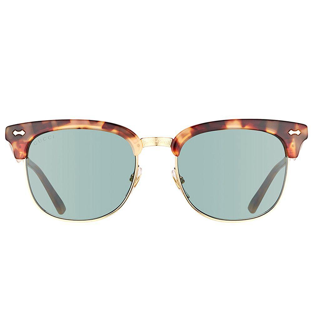 Gucci - Multicolor Gg 0051s 002 Havana Fashion Sunglasses - Lyst. View  fullscreen 8447d27517