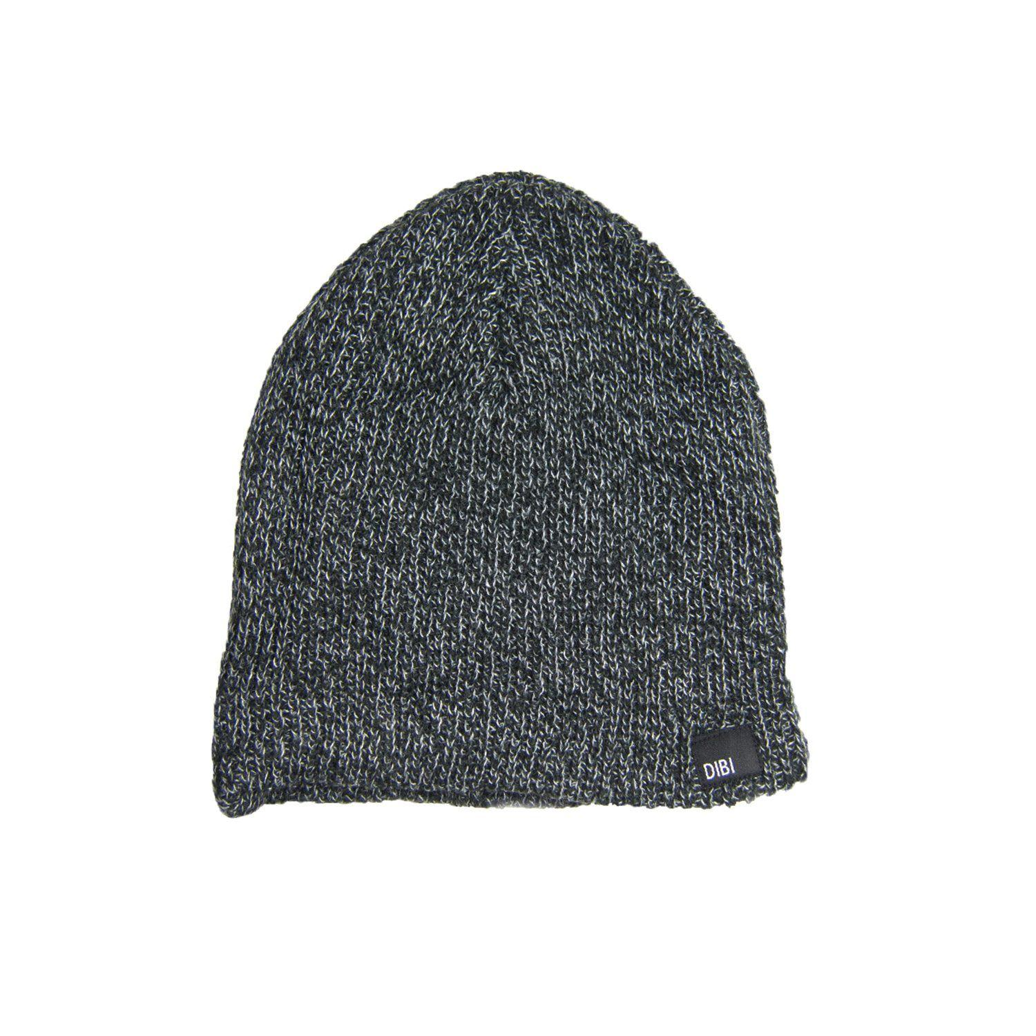 ec0f240dab6 Dibi - Black   Charcoal Slouchy Beanie for Men - Lyst. View fullscreen