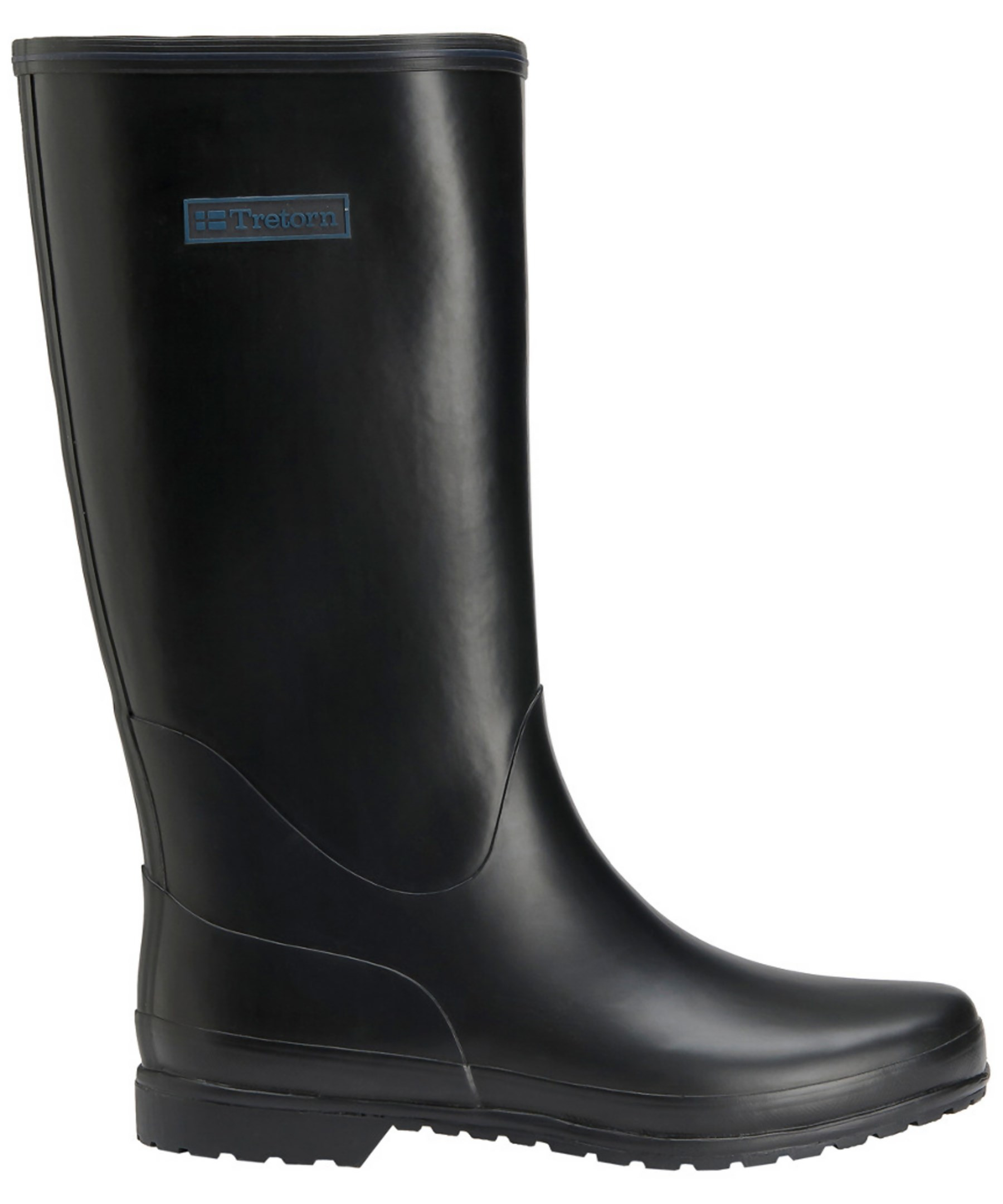 Awesome Tretorn Plask Mid Womens Size 8 Black Rubber Rain Boots Used | EBay