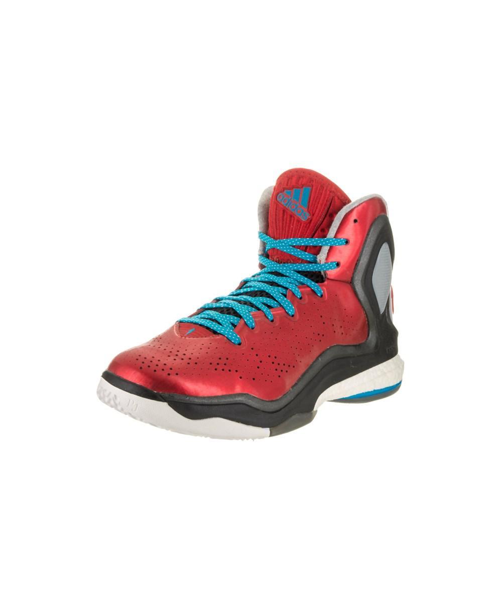 buy popular a57b6 31f6e Lyst - Adidas Originals Men s D Rose 5 Boost Basketball Shoe in Red ...