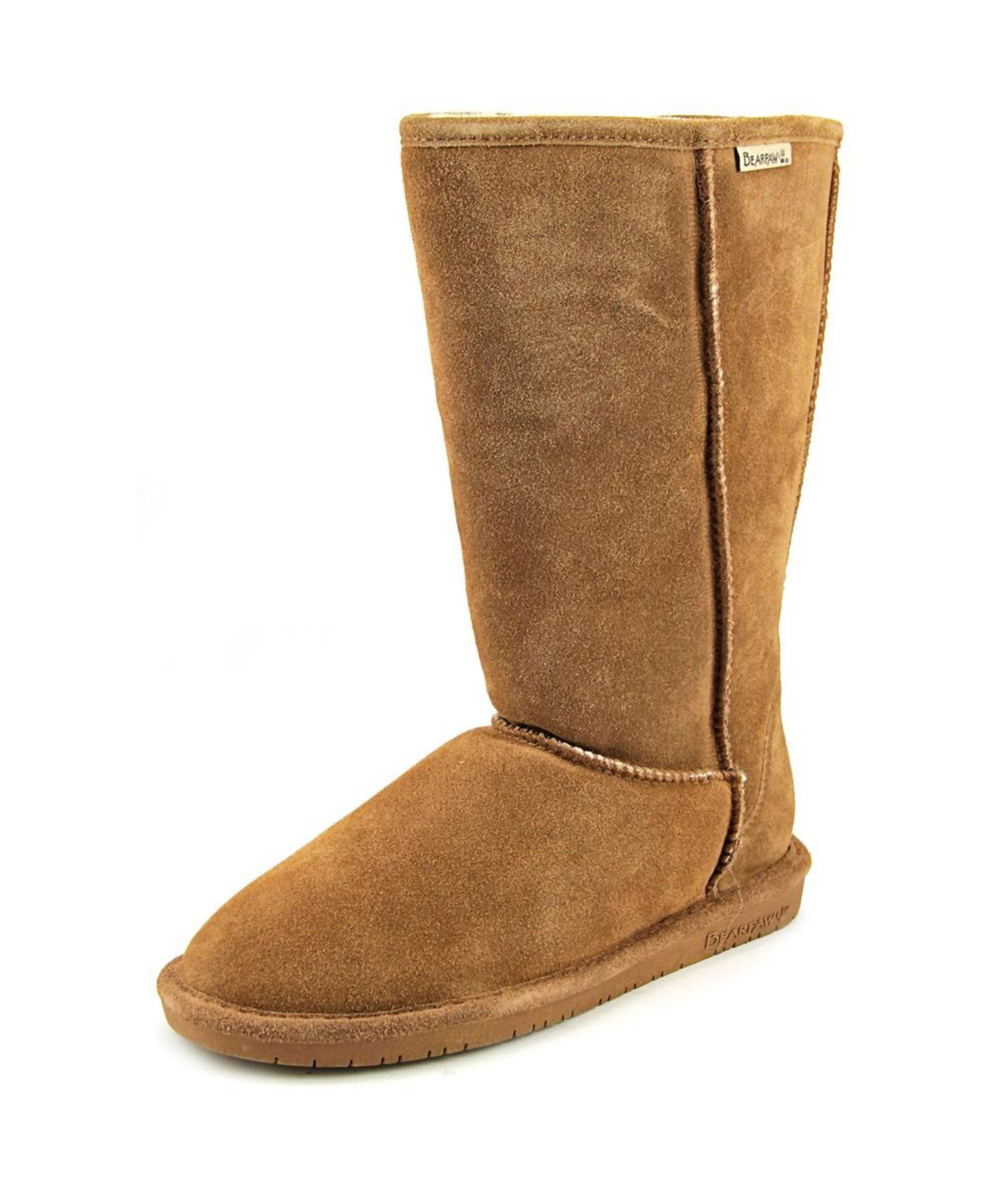 bearpaw toe suede winter boot in