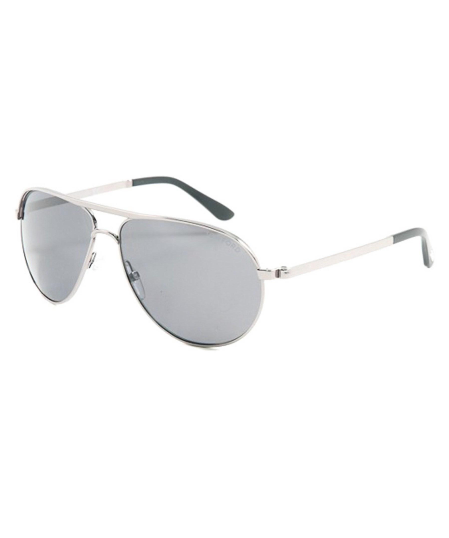 Tom Ford Unisex Marko Sunglasses In Metallic For Men