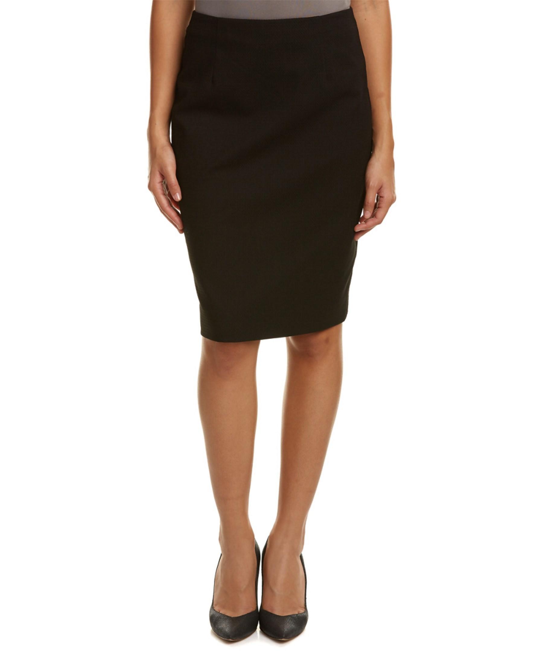 nanette lepore pretty pencil skirt in black lyst