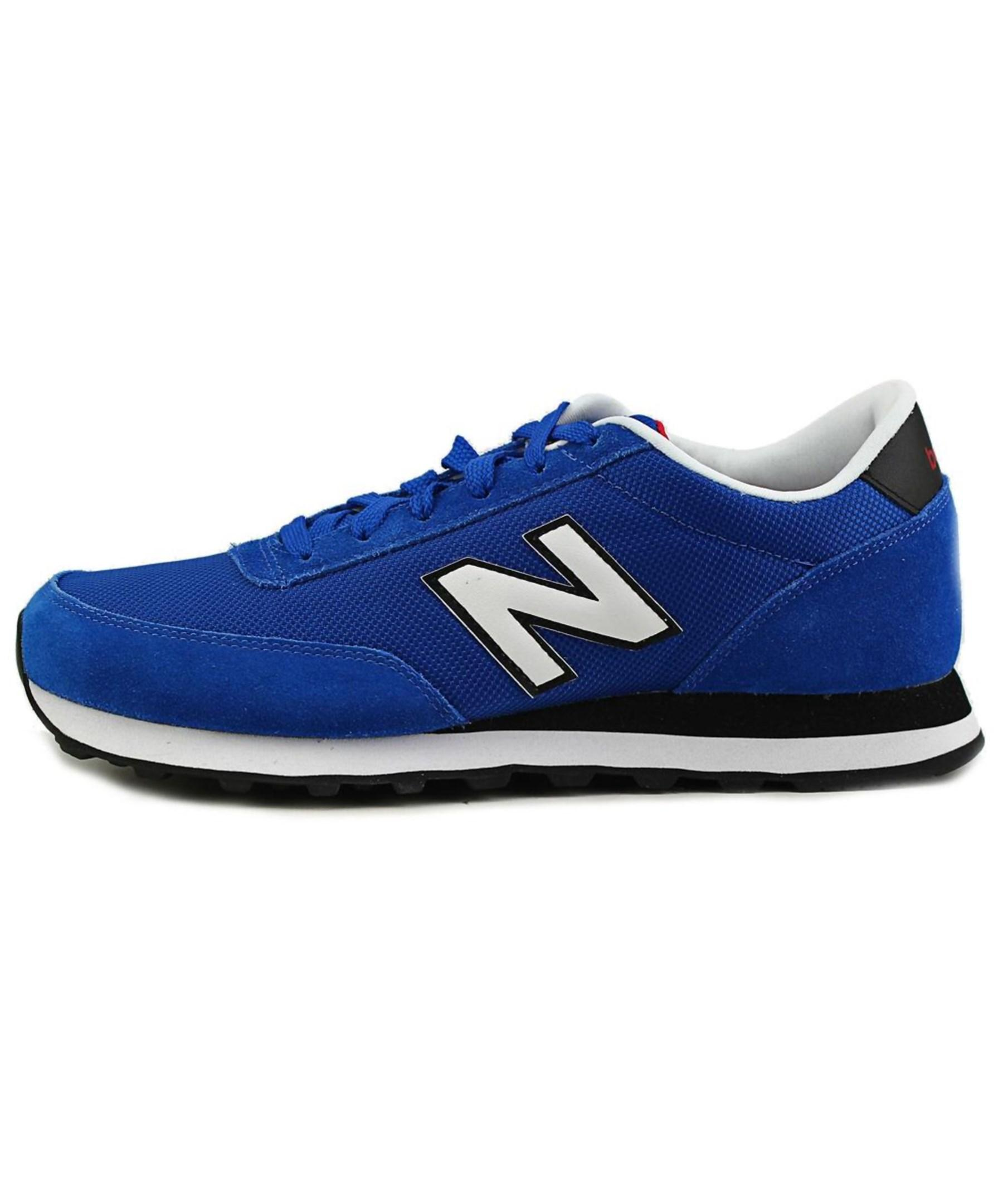 Lyst - New balance Ml501 Leather Fashion Sneakers in Blue for Men