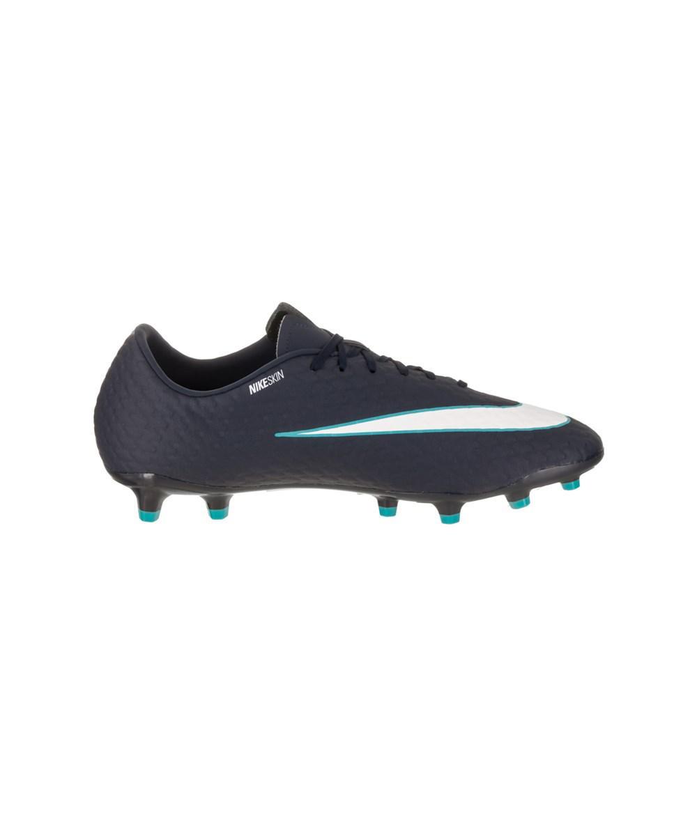 huge discount bba7d 64ab2 Nike Men's Hypervenom Phelon Iii Fg Soccer Cleat in White ...