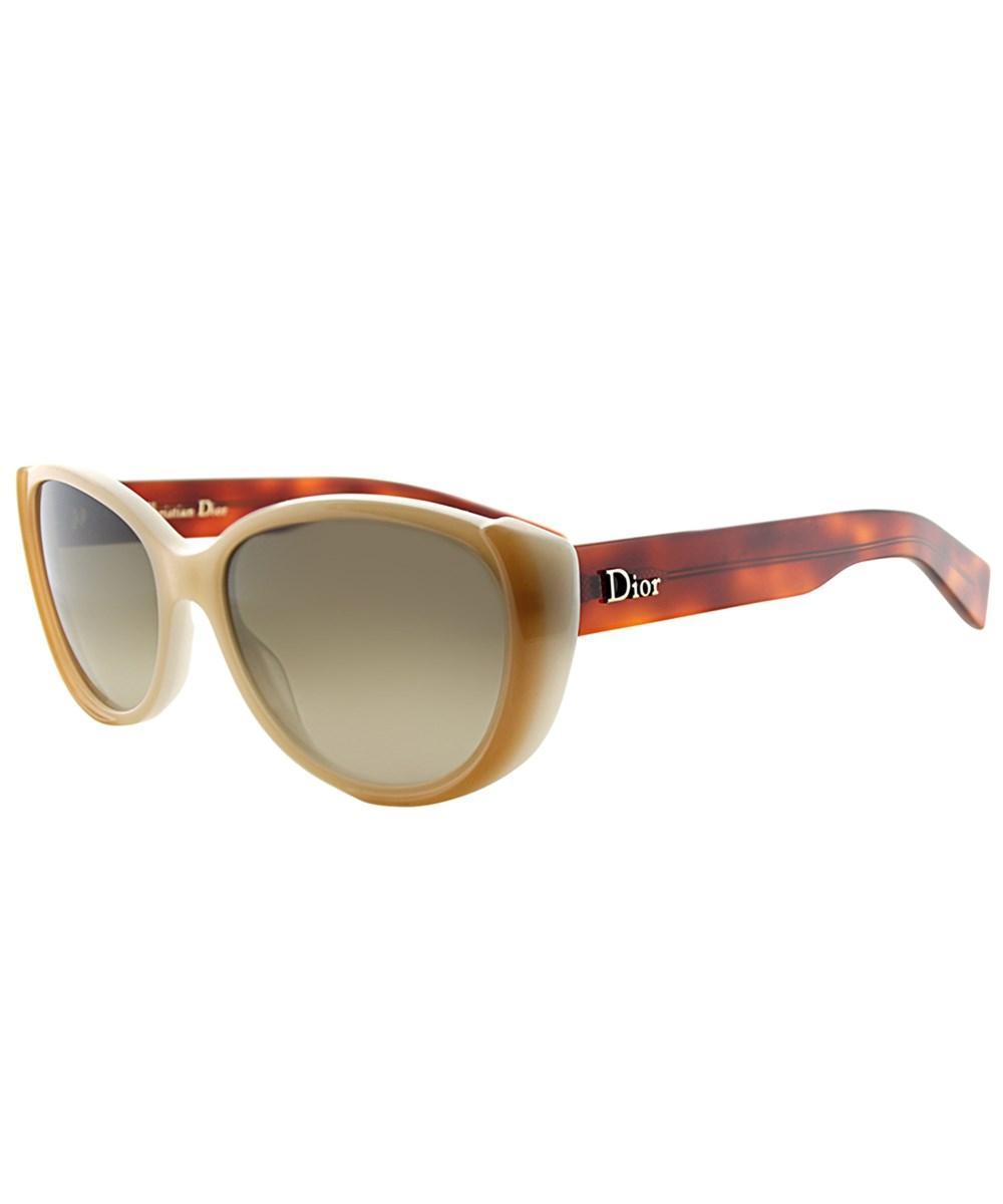 2d8b39af82 Lyst - Dior Summerset 2 Cat-eye Plastic Sunglasses in Brown - Save 16%