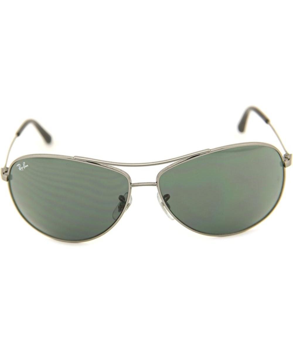 efb6dc6a27 Lyst - Ray-Ban 3454l Men Aviator Silver Sunglasses in Metallic for Men